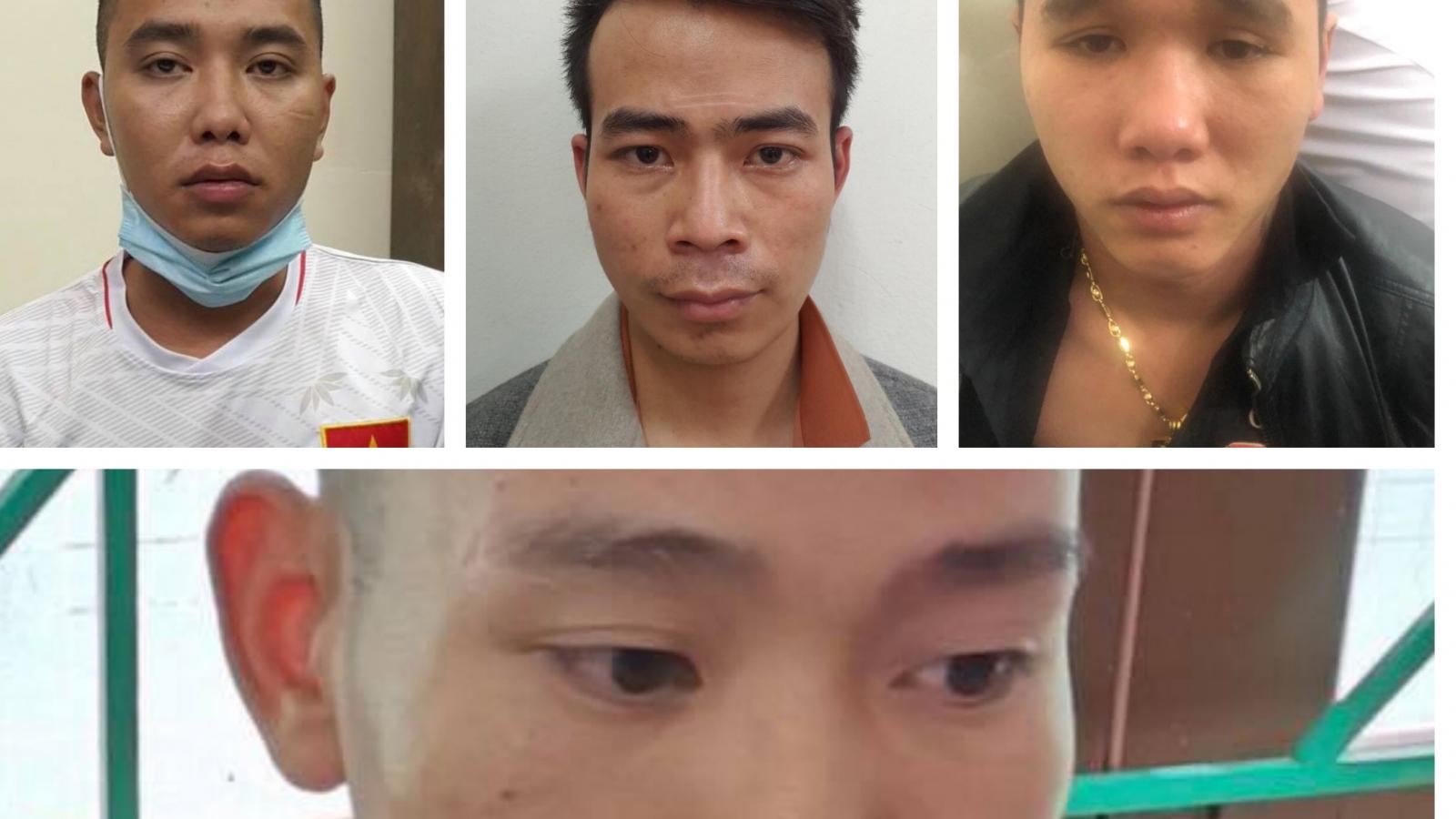 Dựng màn kịch bắt cóc bạn gái, 4 thanh niên vướng vòng lao lý