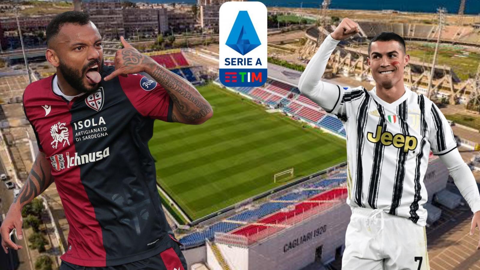Dự đoán kết quả, đội hình xuất phát trận Cagliari - Juventus