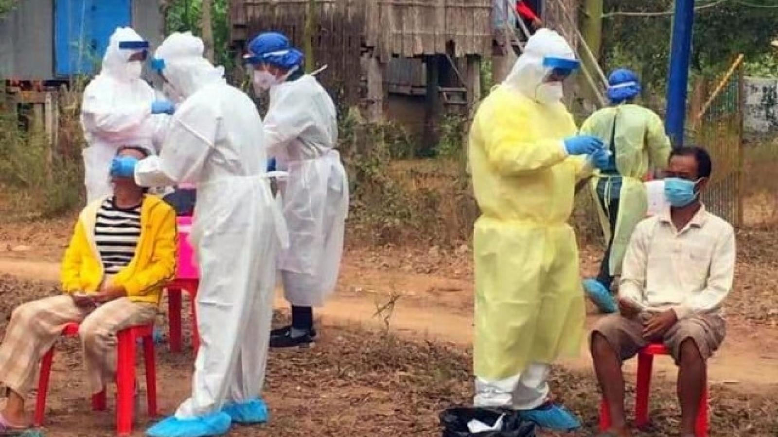 Campuchia 10 ngày liên tiếp phát hiện Covid-19 lây lan trong cộng đồng