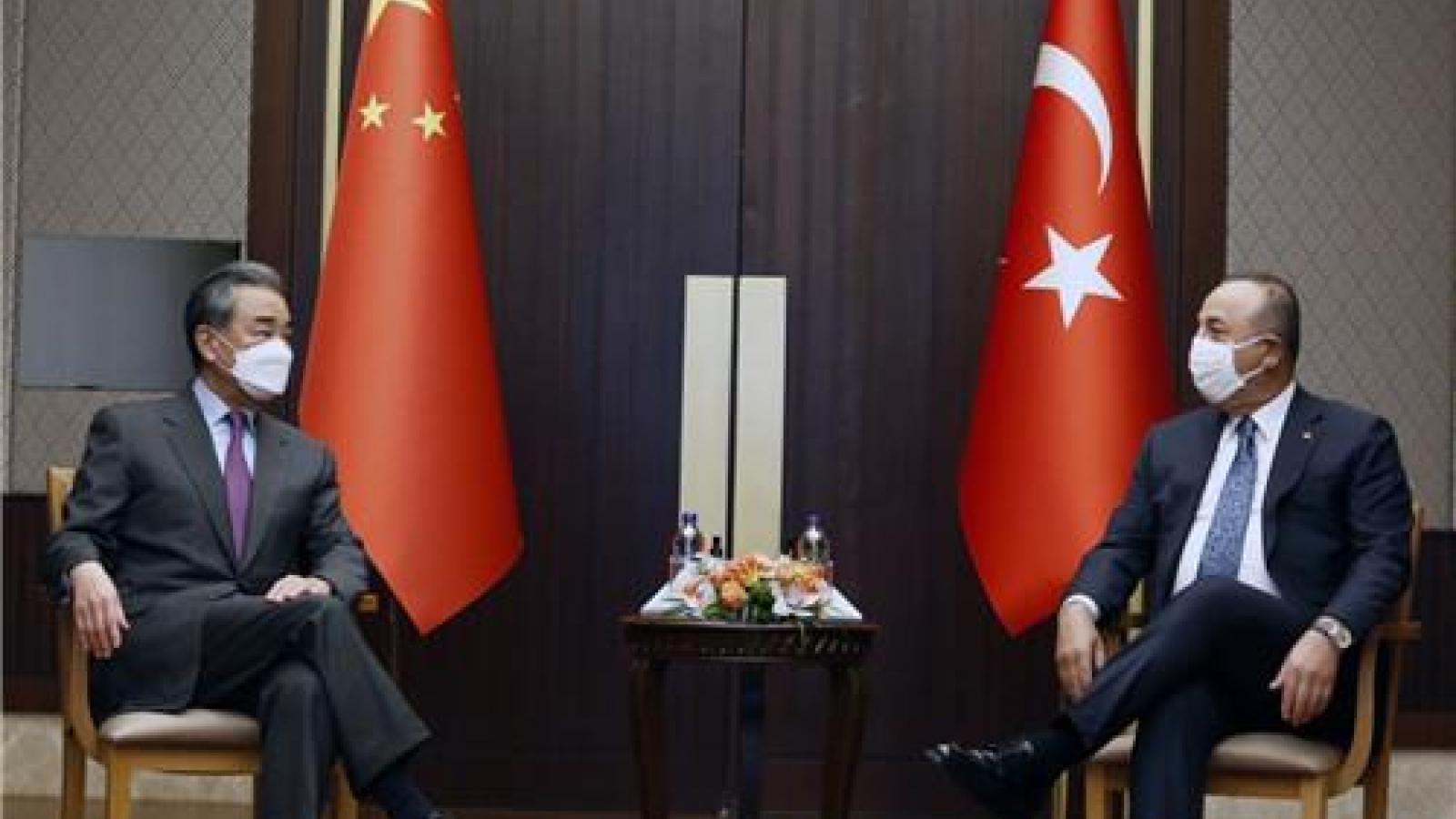 Trung Quốc tranh thủ sự ủng hộ của Thổ Nhĩ Kỳ trong vấn đề Tân Cương