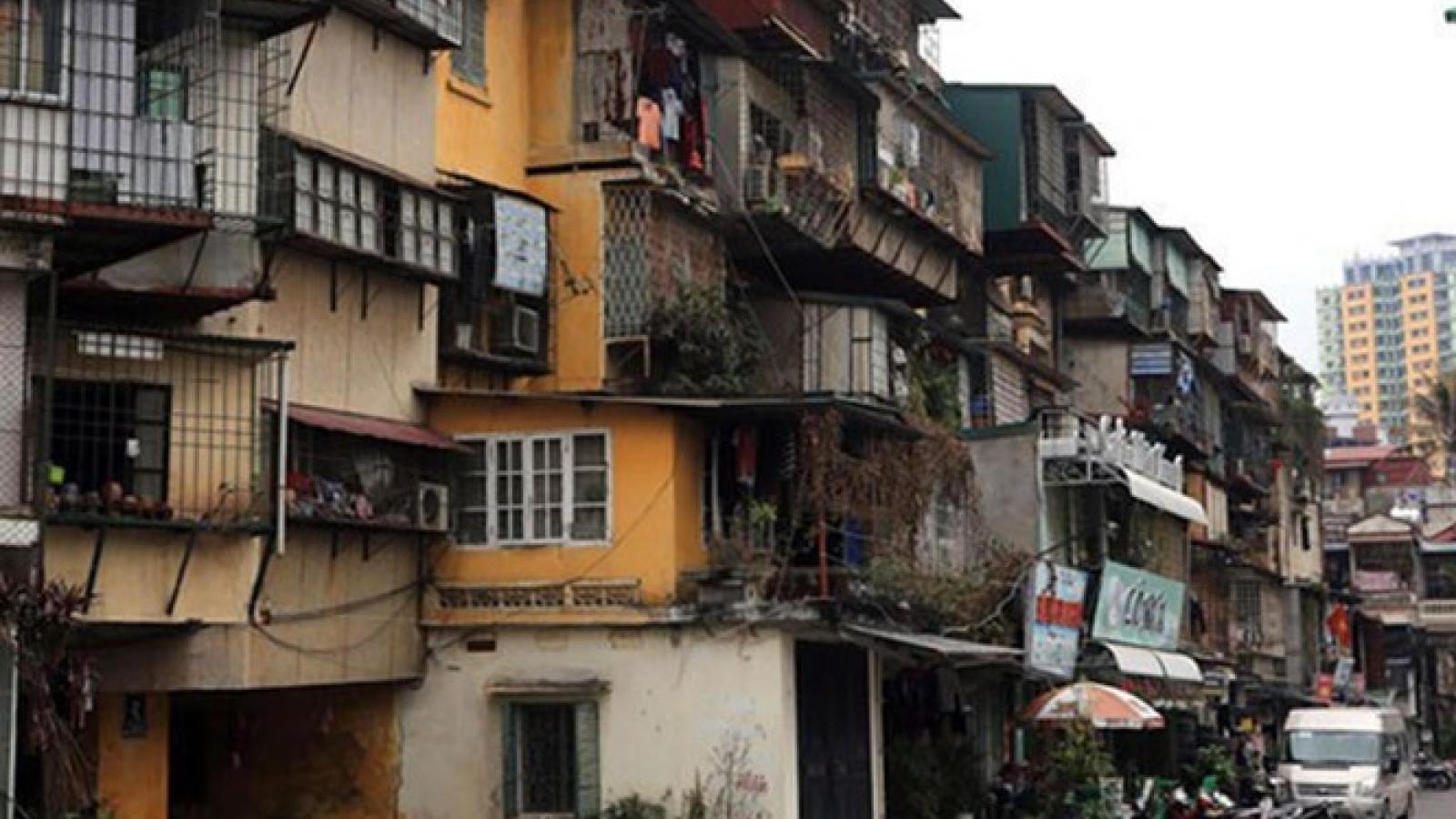 Cải tạo chung cư cũ: Đỏ mắt chờ cơ chế