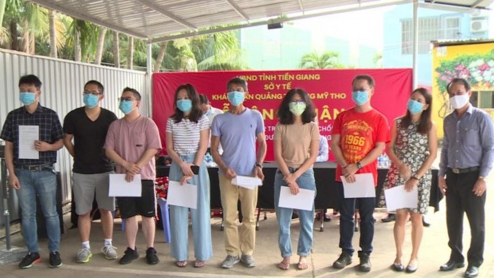 20 chuyên gia người nước ngoài tại Tiền Giang âm tínhvới SARS-CoV-2