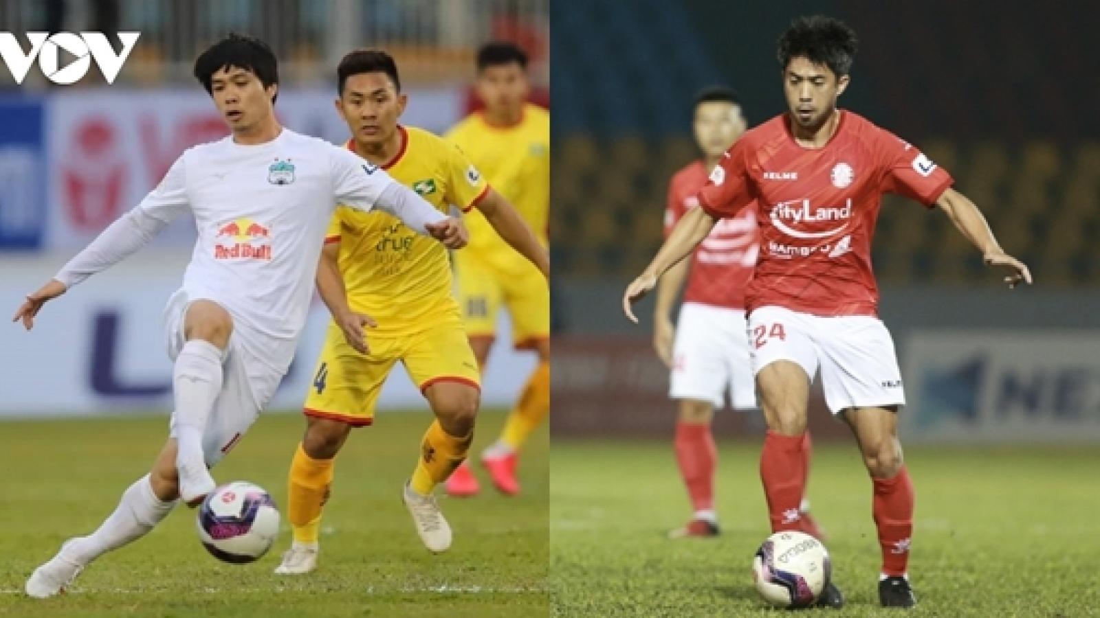 Công Phượng, Lee Nguyễn và đội hình cầu thủ từng khoác áo cả HAGL lẫn TPHCM