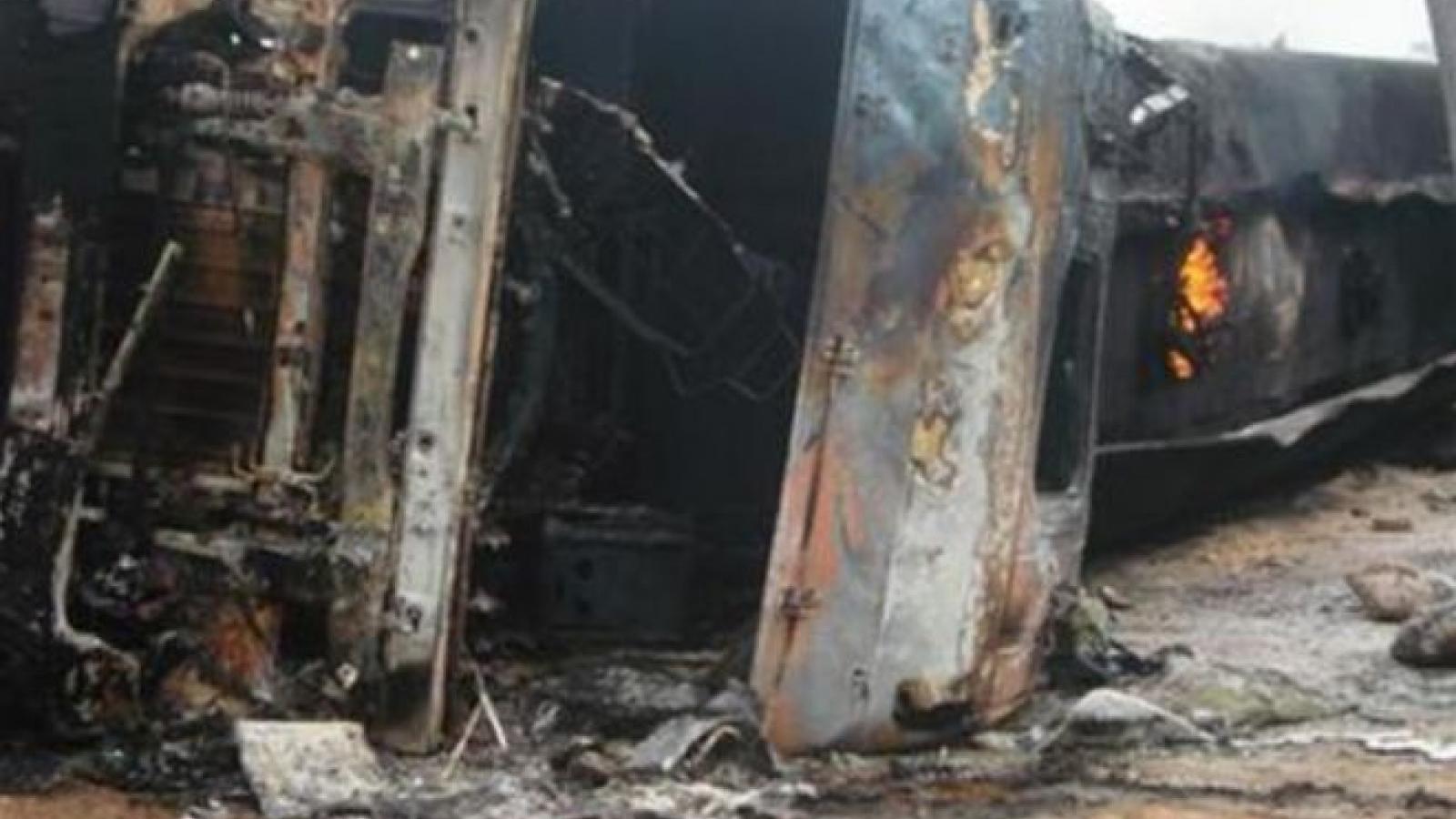 CHDC Congo: Tai nạn giao thông nghiêm trọng, 25 người thiệt mạng