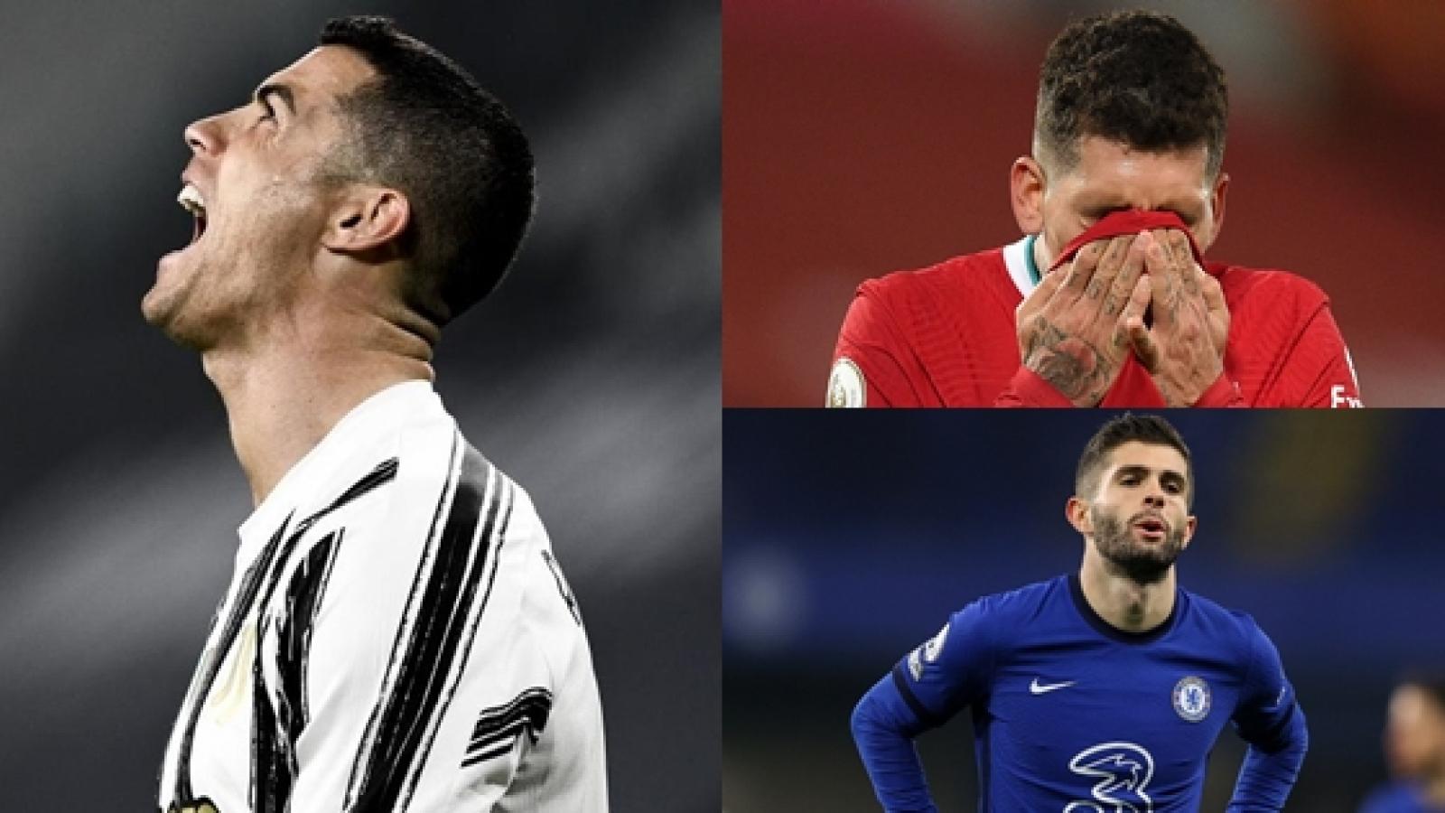 """Ronaldo và top 10 ngôi sao có nguy cơ bị """"thanh lý"""" ở kỳ chuyển nhượng hè"""