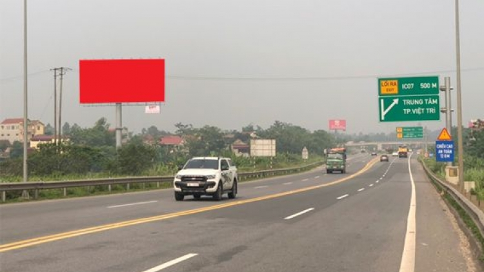 Cao tốc Nội Bài - Lào Cai sẽ được trồng cây cọ hai bên đường đoạn qua tỉnh Phú Thọ
