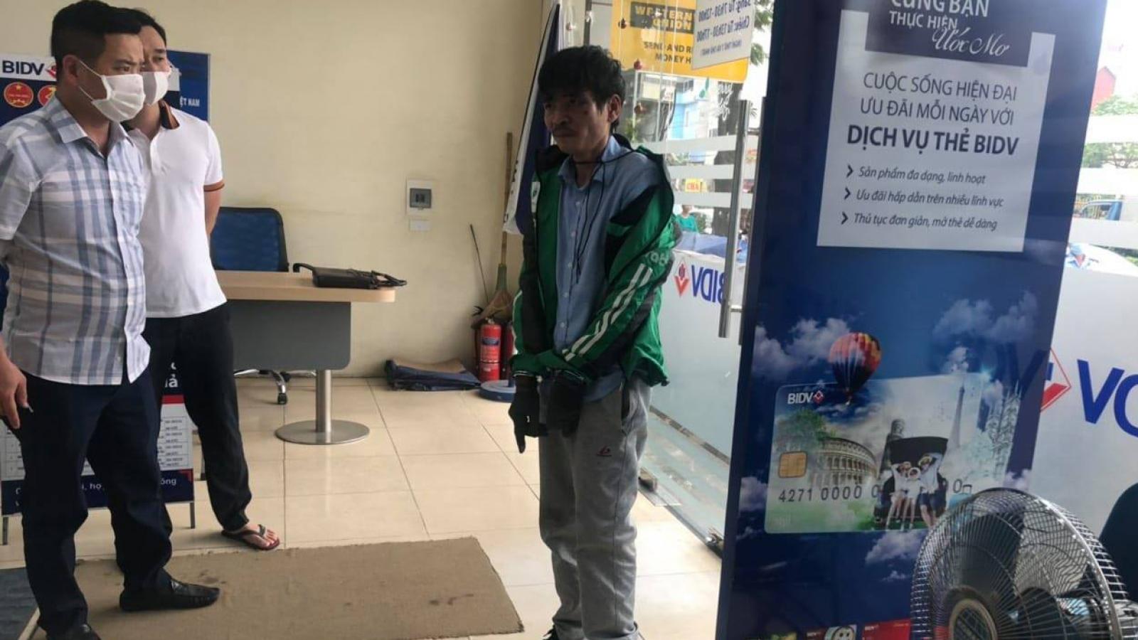 Vụ cướp ngân hàng ở Hà Nội: Đi cướp để trả 40 triệu đồng tiền nợ