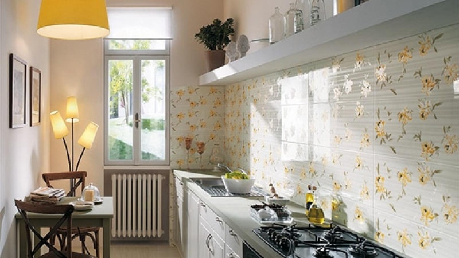 5 mẹo trang trí giúp căn bếp trông rộng hơn