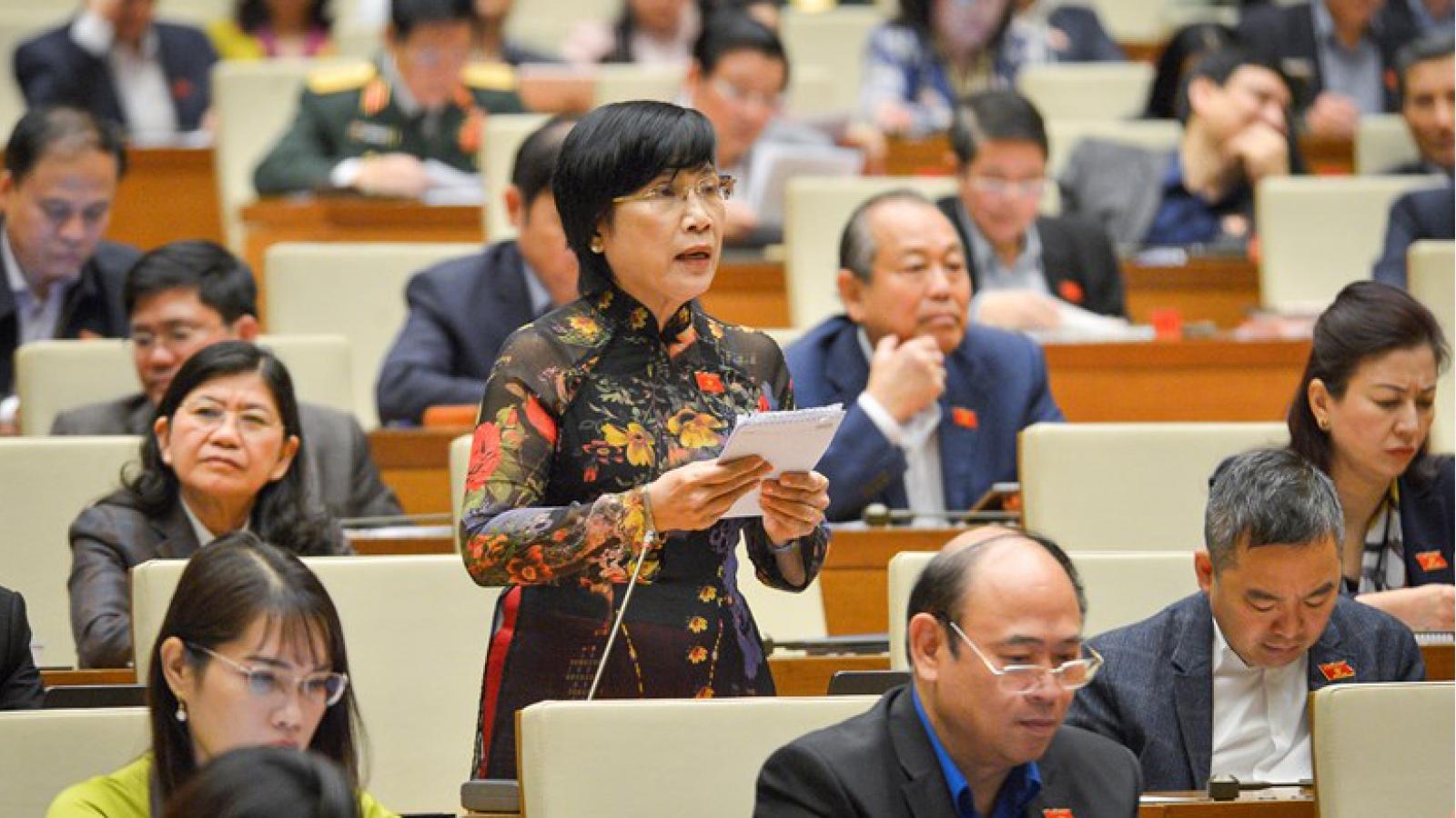 Quốc hội thảo luận báo cáo nhiệm kỳ của TAND và Viện KSND tối cao