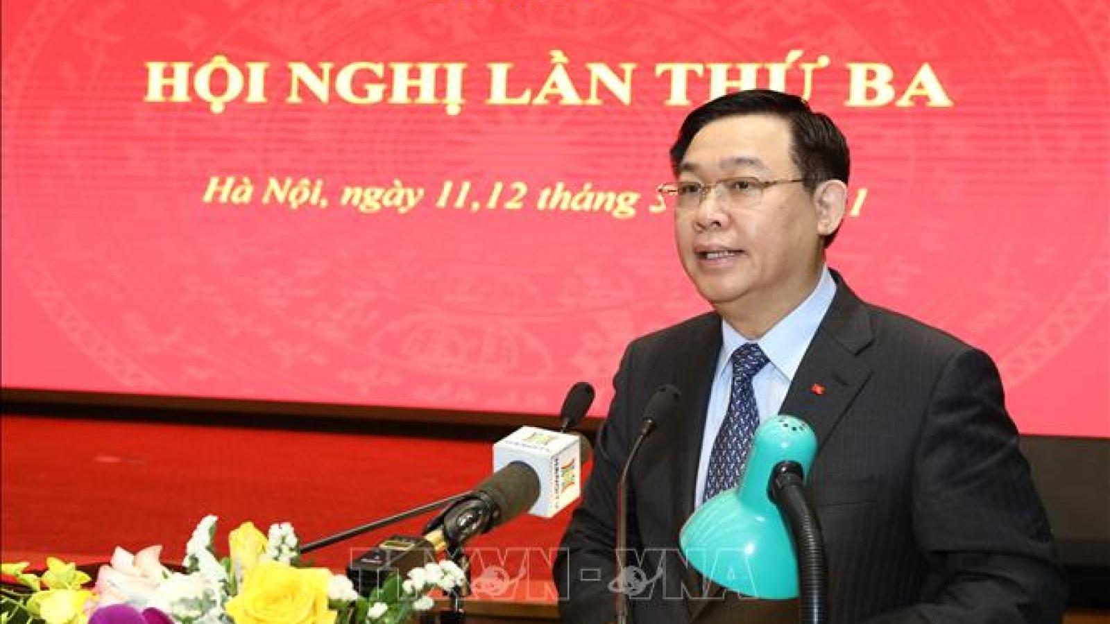 """Hà Nội quyết tâm thực hiện """"4 không"""" để phòng, chống tham nhũng"""