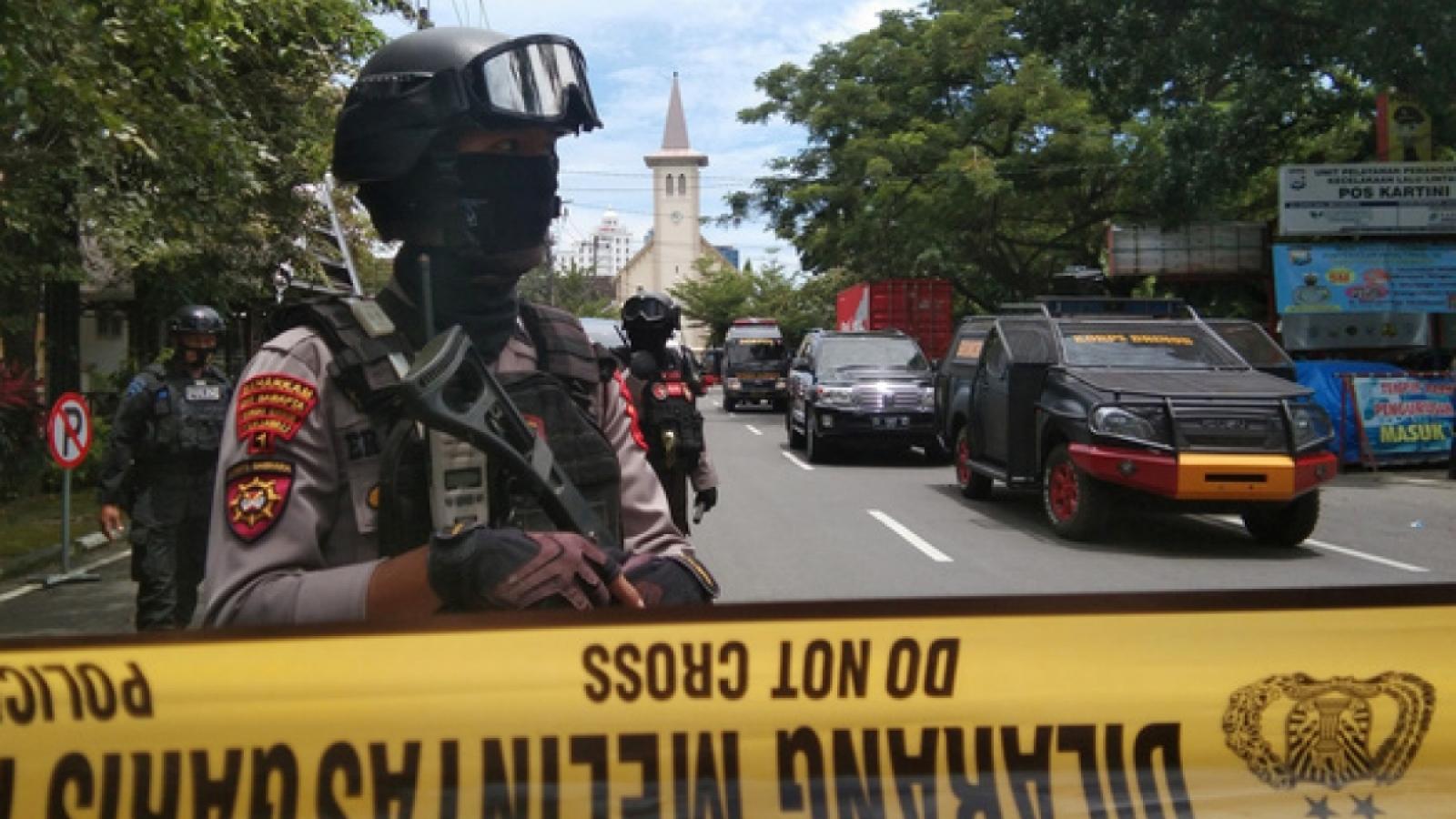 Thông tin điều tra của cảnh sát về vụ đánh bom nhà thờ ở Makassar