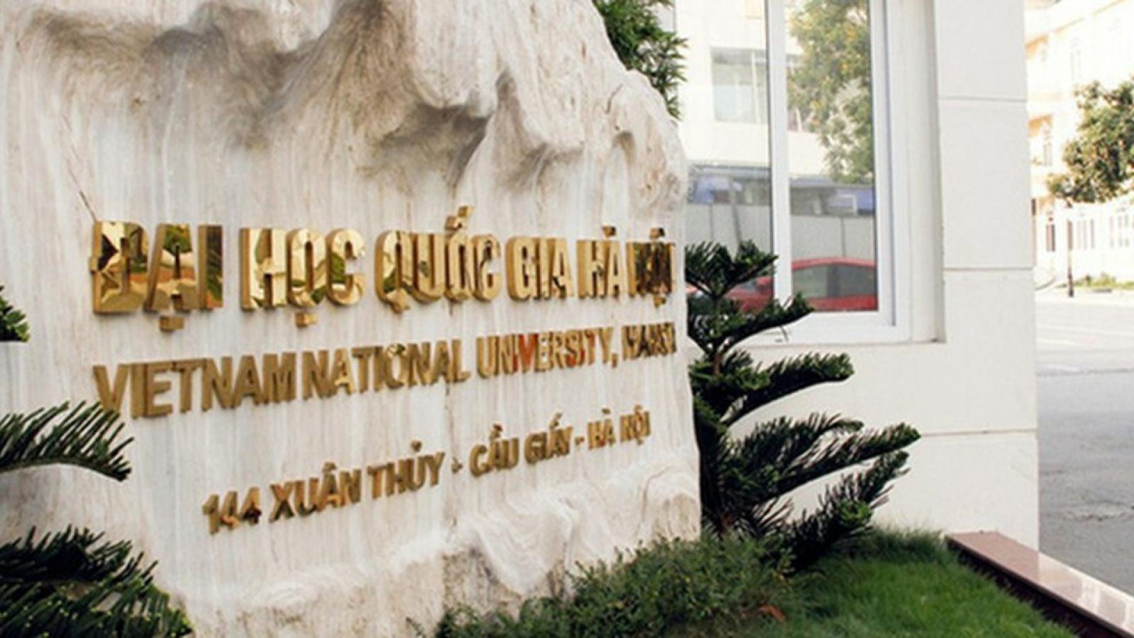 ĐH Quốc gia Hà Nội công bố phương án tuyển sinh năm 2021