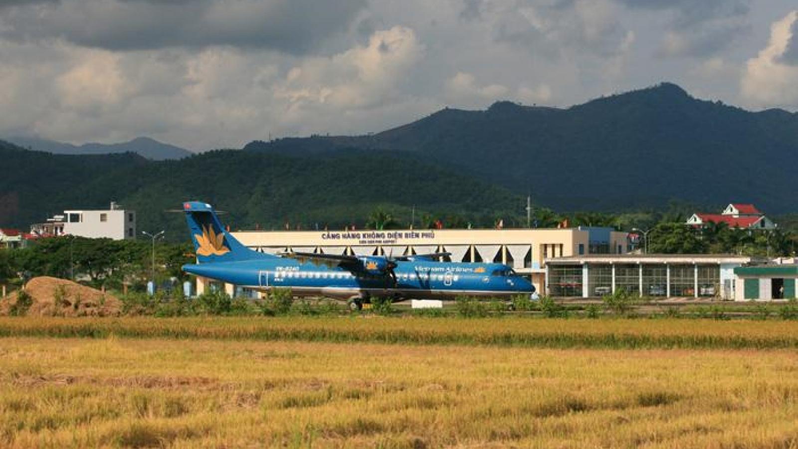 Kiến nghị mở rộng sân bay Điện Biên đạt công suất 0,5 triệu hành khách/năm