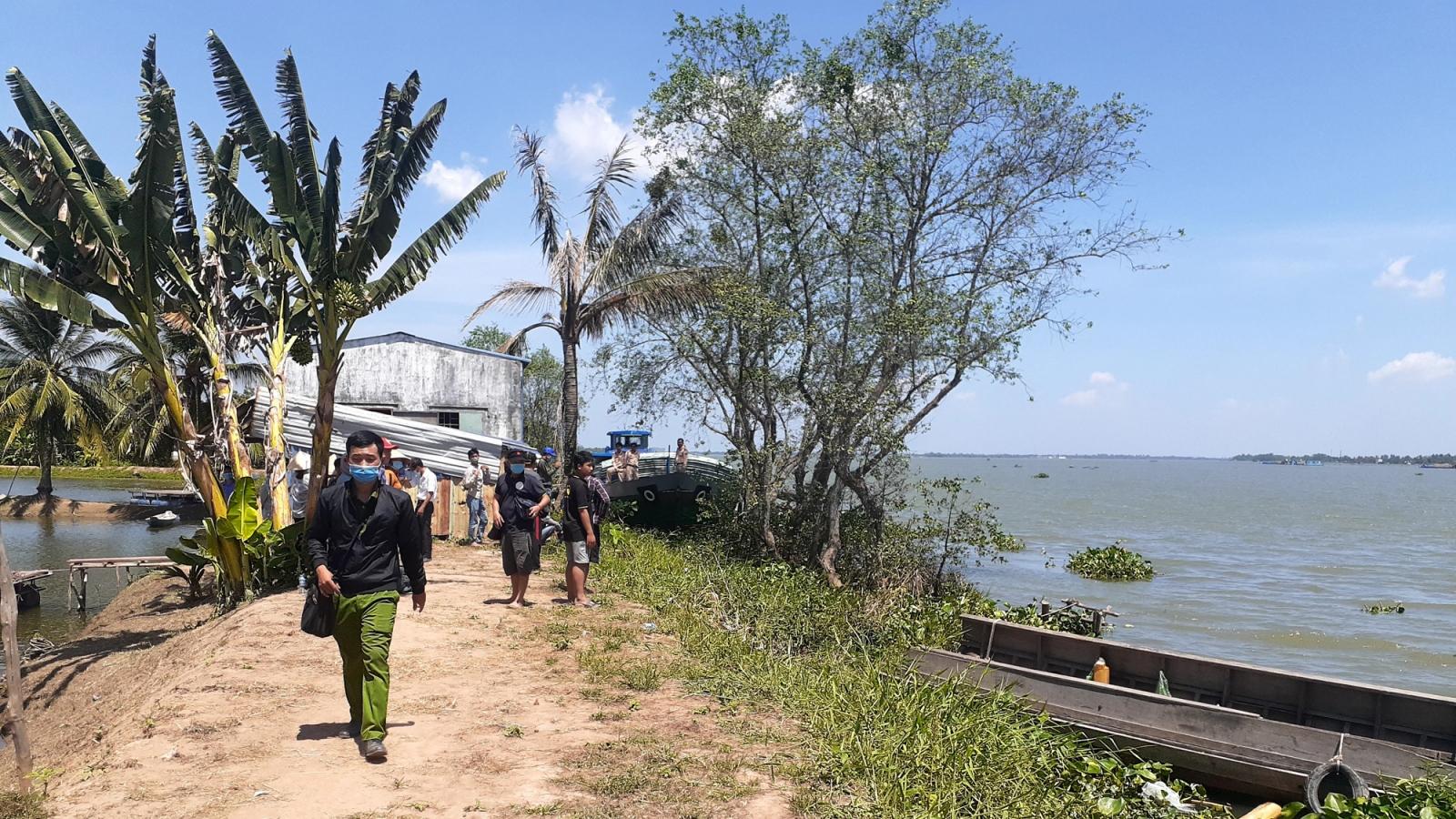 Khẩn trương điều tra vụ 3 ngườichếtđuối trên sông Tiền