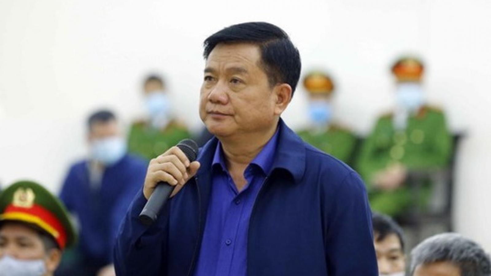 Vì sao bị cáo Đinh La Thăng chỉ chấp hành 30 năm tù sau 4 vụ án?