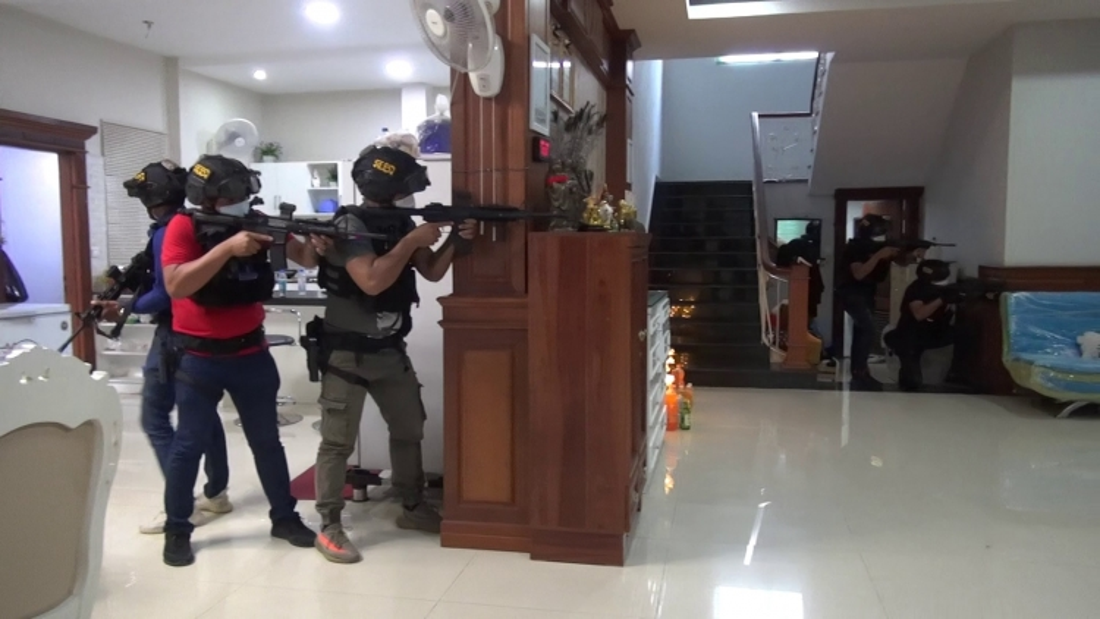 Campuchia tiêu diệt 4 đối tượng âm mưu bắt cóc đòi 1 triệu USD tiền chuộc