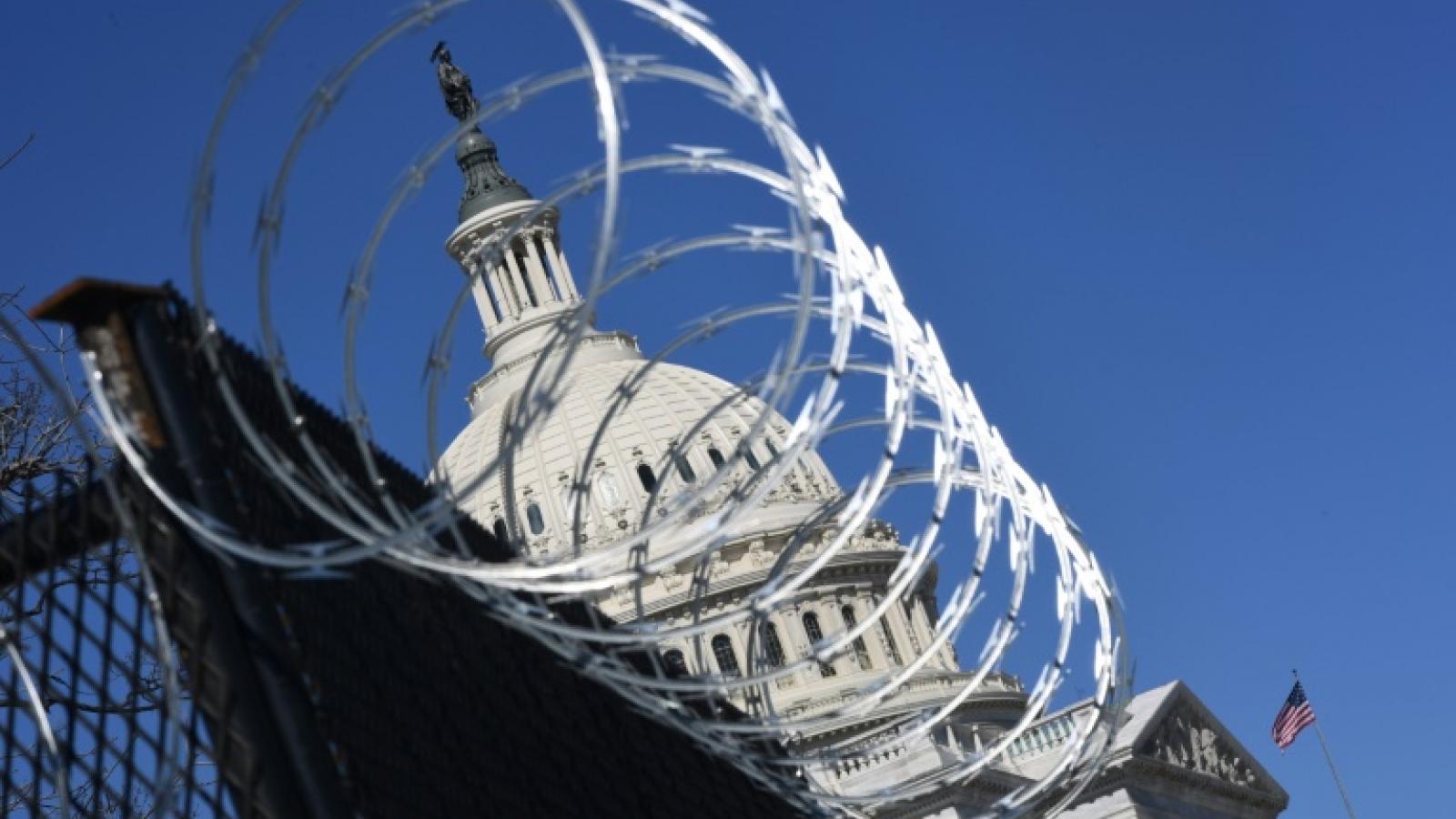 Mỹ tăng cường an ninh ở Đồi Capitol trước mối đe dọa tấn công cực đoan