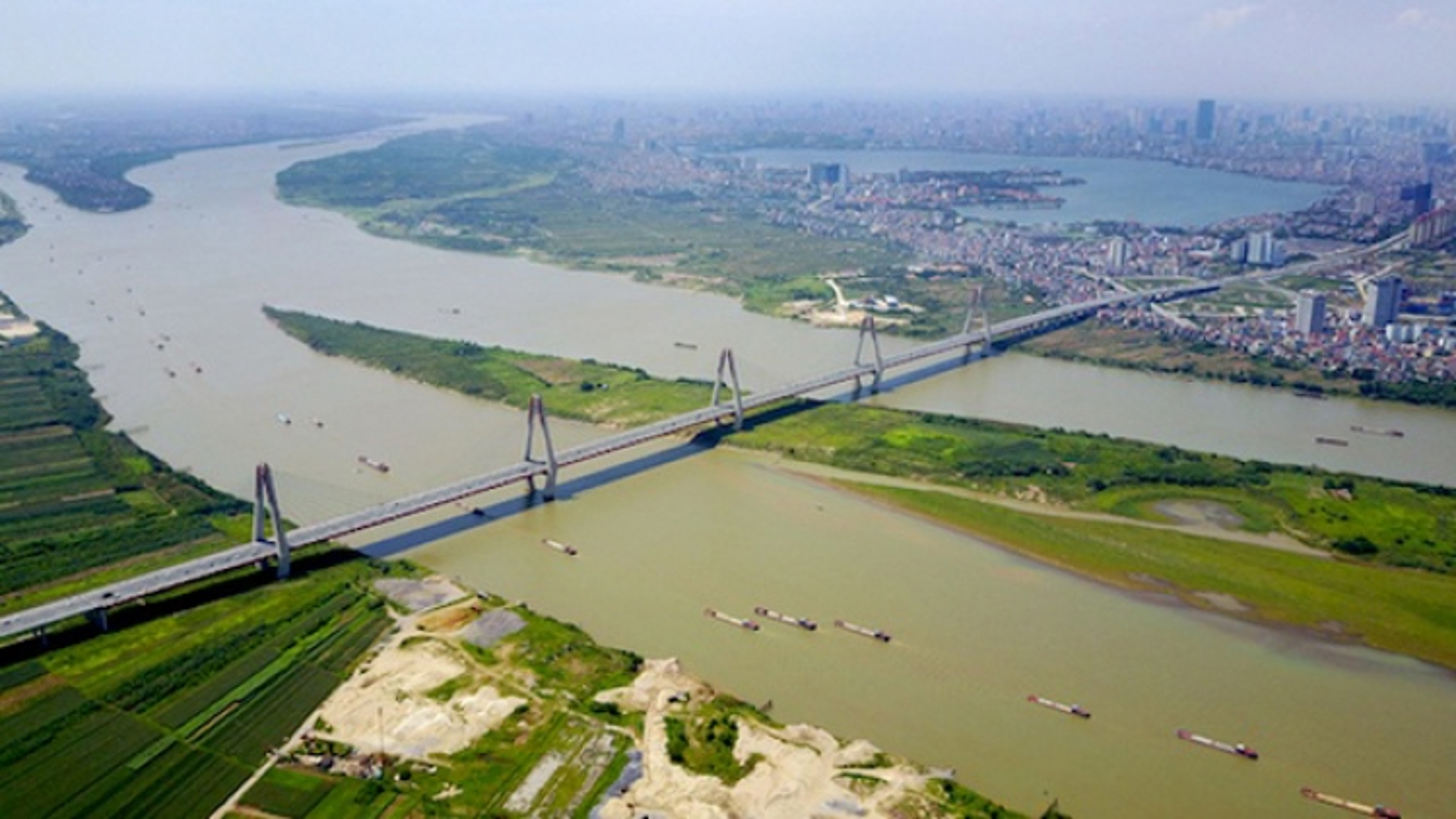 Siêu dự án thành phố ven sông Hồng, mỏ vàng để hoang hóa bấy lâu nay