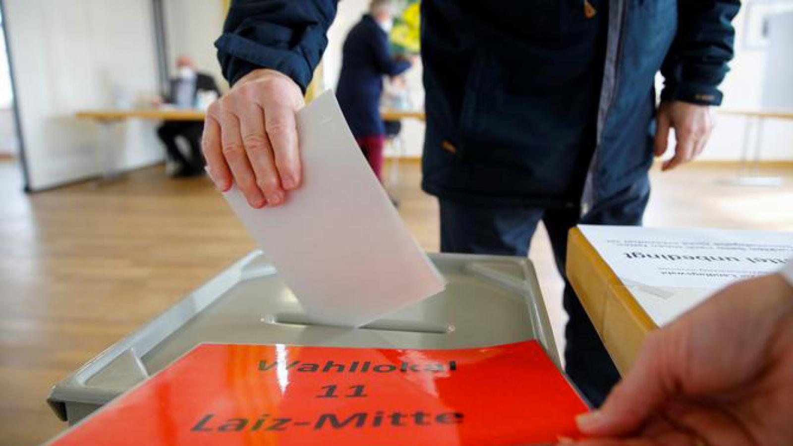 Đảng CDU cầm quyền tại Đức thất bại tại bầu cử địa phương ở 2bang