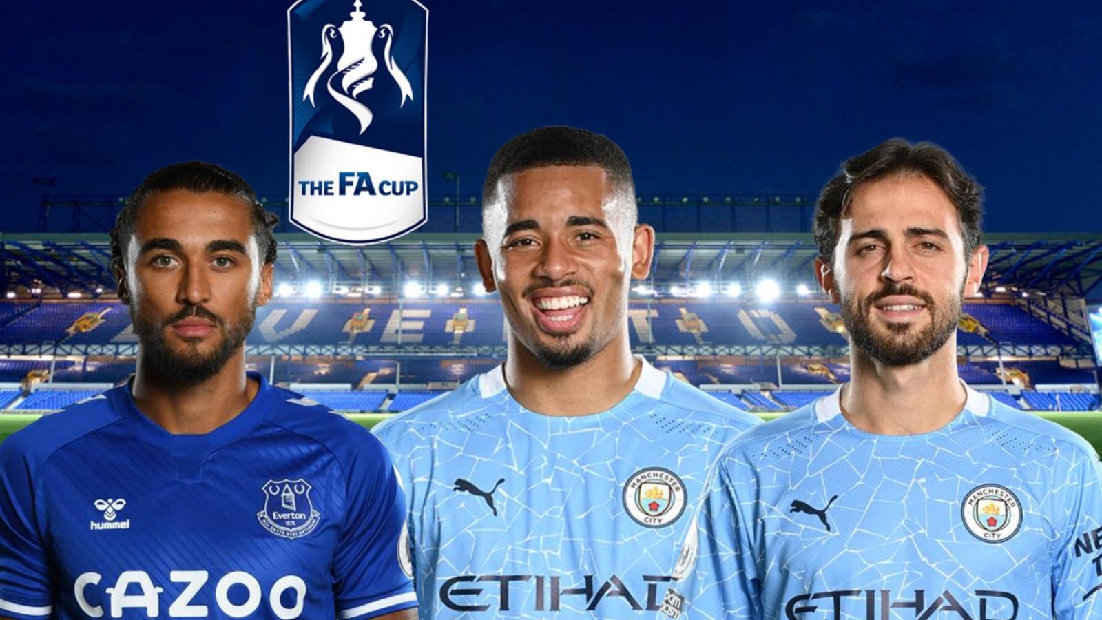 Dự đoán kết quả, đội hình xuất phát trận Everton – Man City