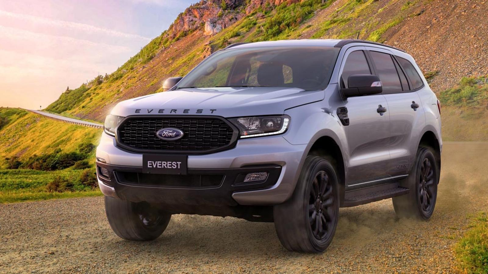Ford Everest có thêm phiên bản Sport