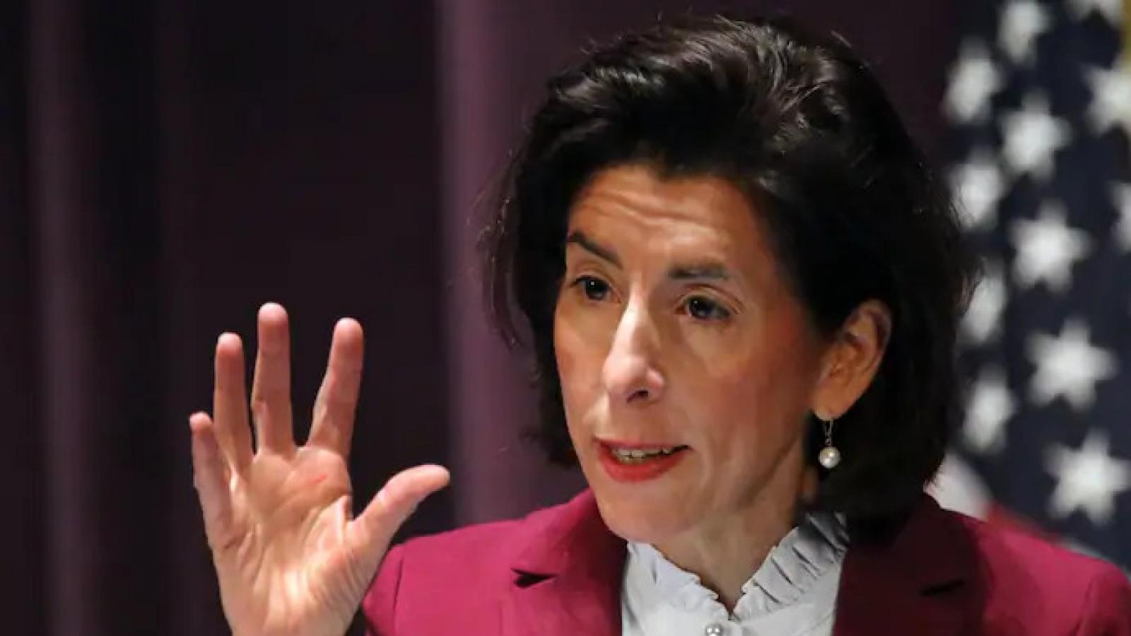 Bà Gina Raimondo được Thượng viện chuẩn thuận làm Bộ trưởng Thương mại Mỹ