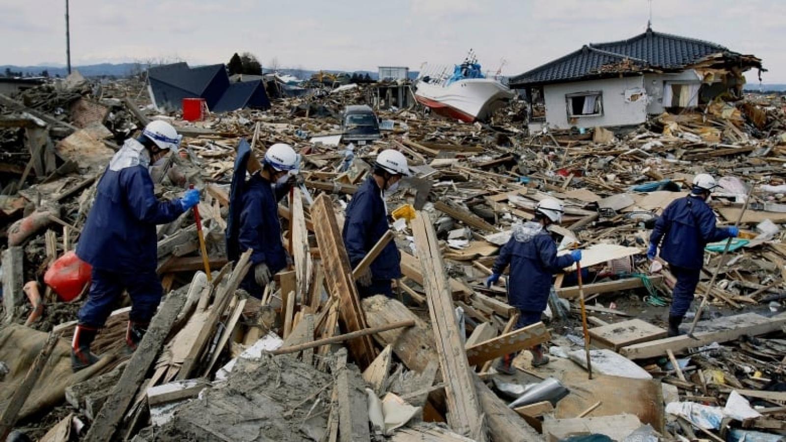Trăn trở nỗi lòng người dân Fukushima 10 năm sau thảm họa động đất sóng thần