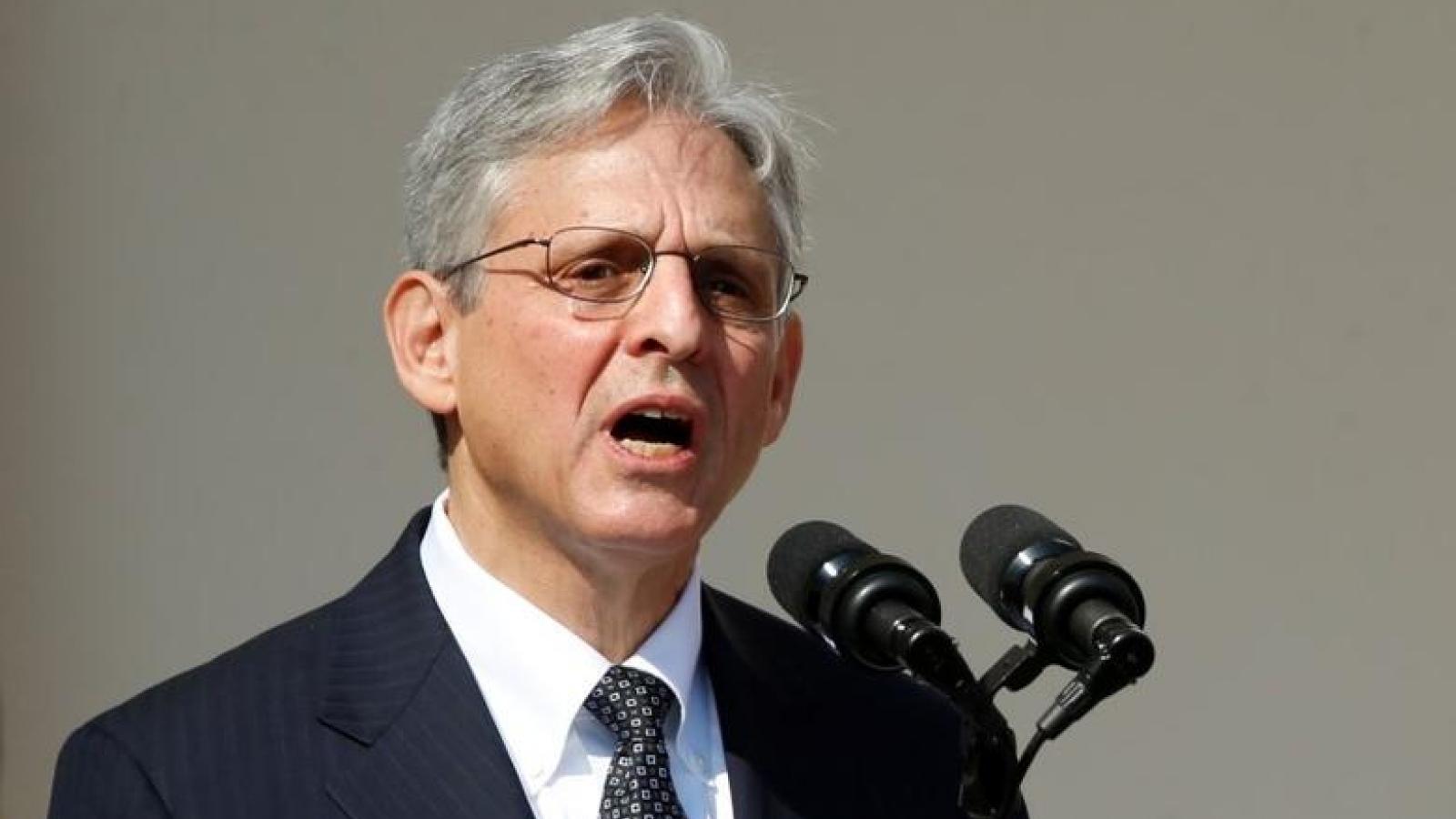 Ủy ban Tư pháp Thượng viện Mỹ thông qua đề cử Bộ trưởng Tư pháp mới