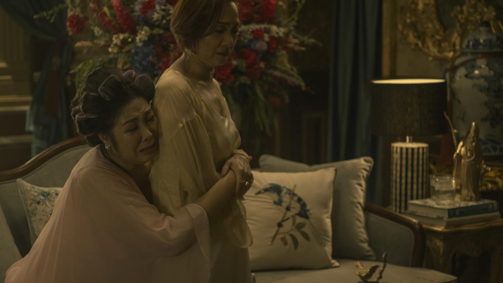 """Cảnh quay 6 phút không cắt của NSND Lê Khanh và Hồng Vân trong """"Gái già lắm chiêu V"""""""