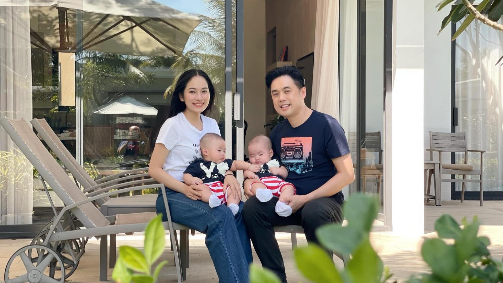 Dương Khắc Linh và Sara Lưu hạnh phúc chia sẻ về tổ ấm nhỏ