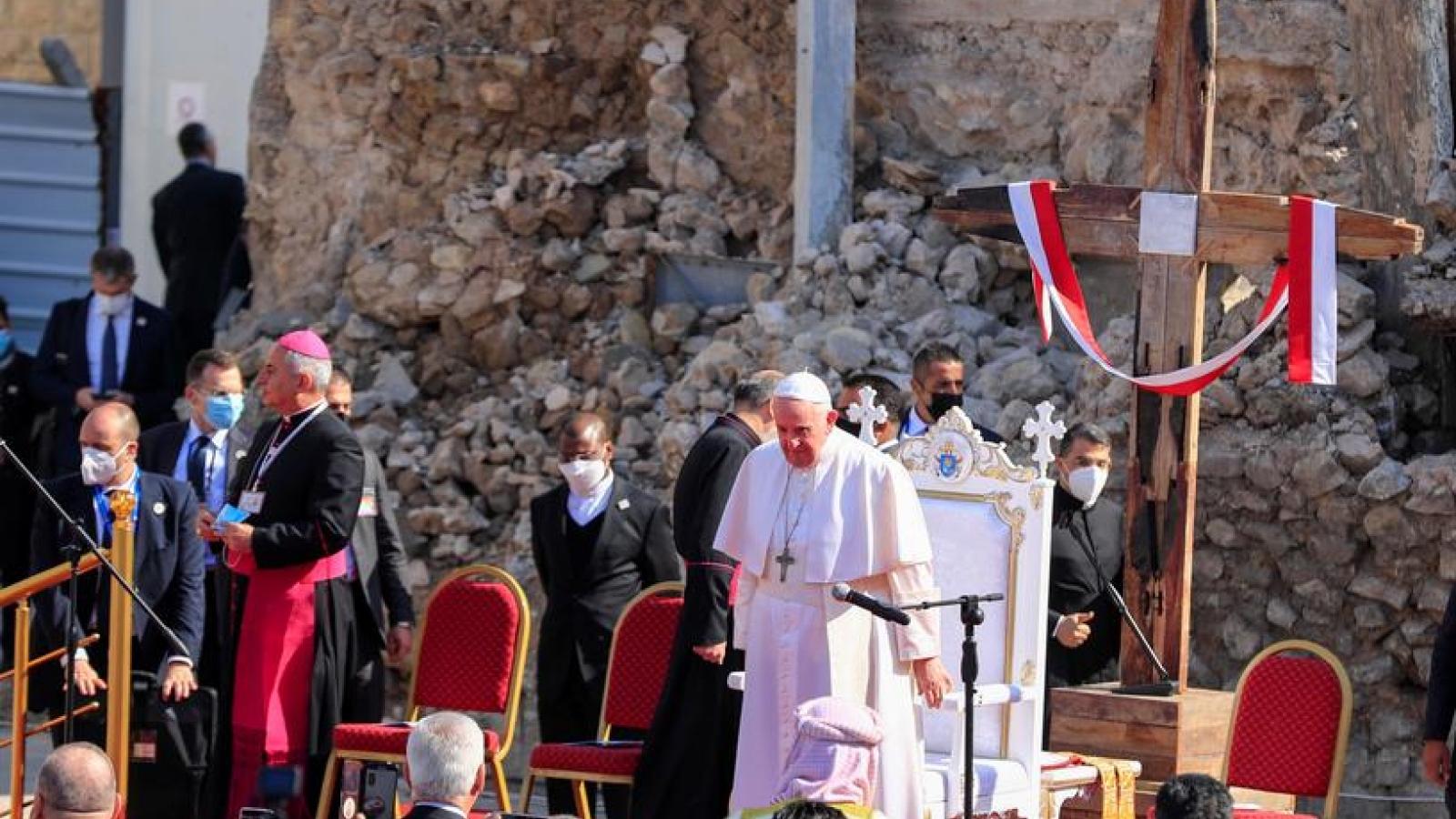 Đức Giáo hoàng tới Mosul, Iraq – thành trì một thời của IS