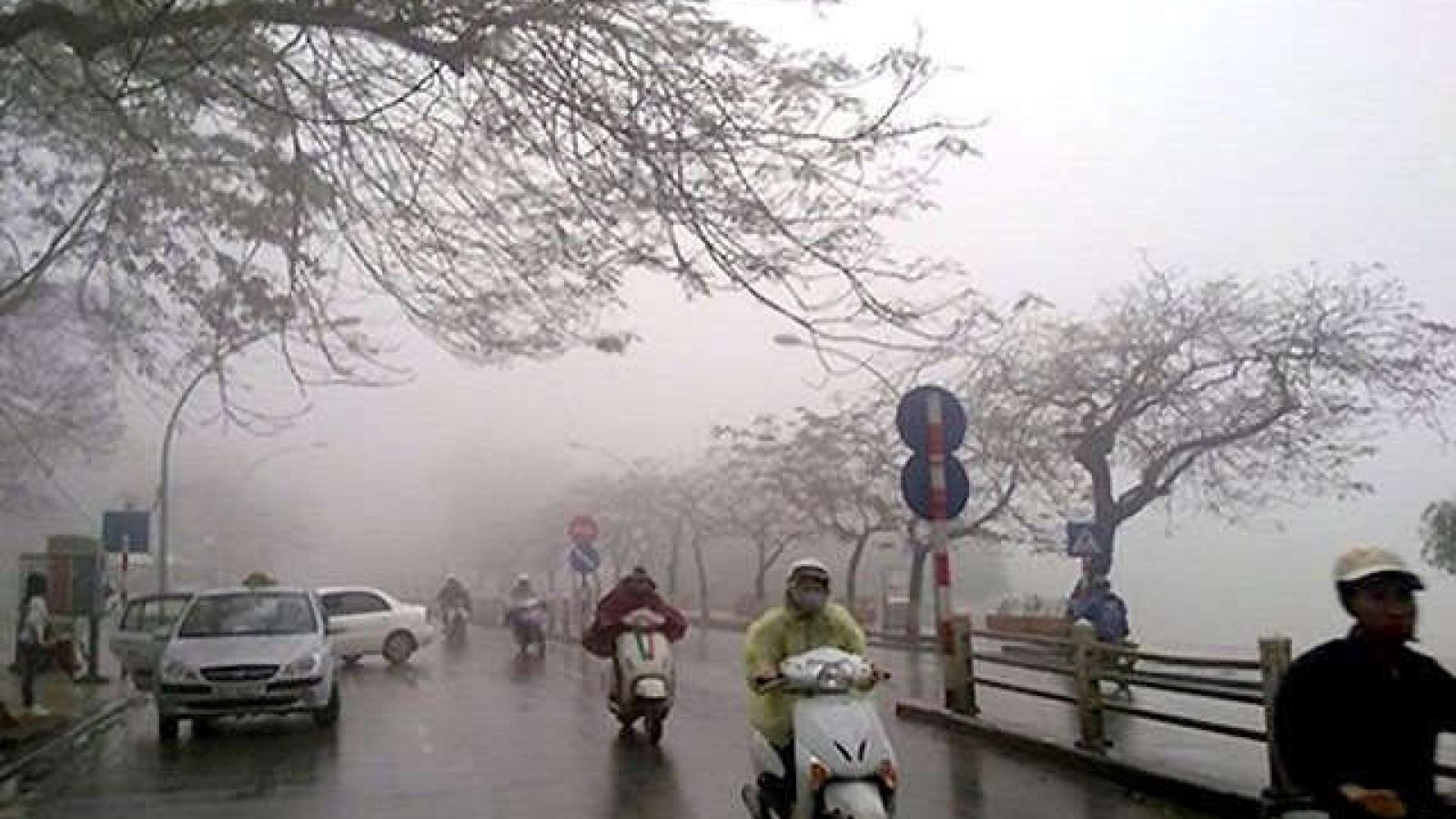 Thời tiết ngày 21/3: Đón không khí lạnh, Bắc bộ mưa dông gió rét