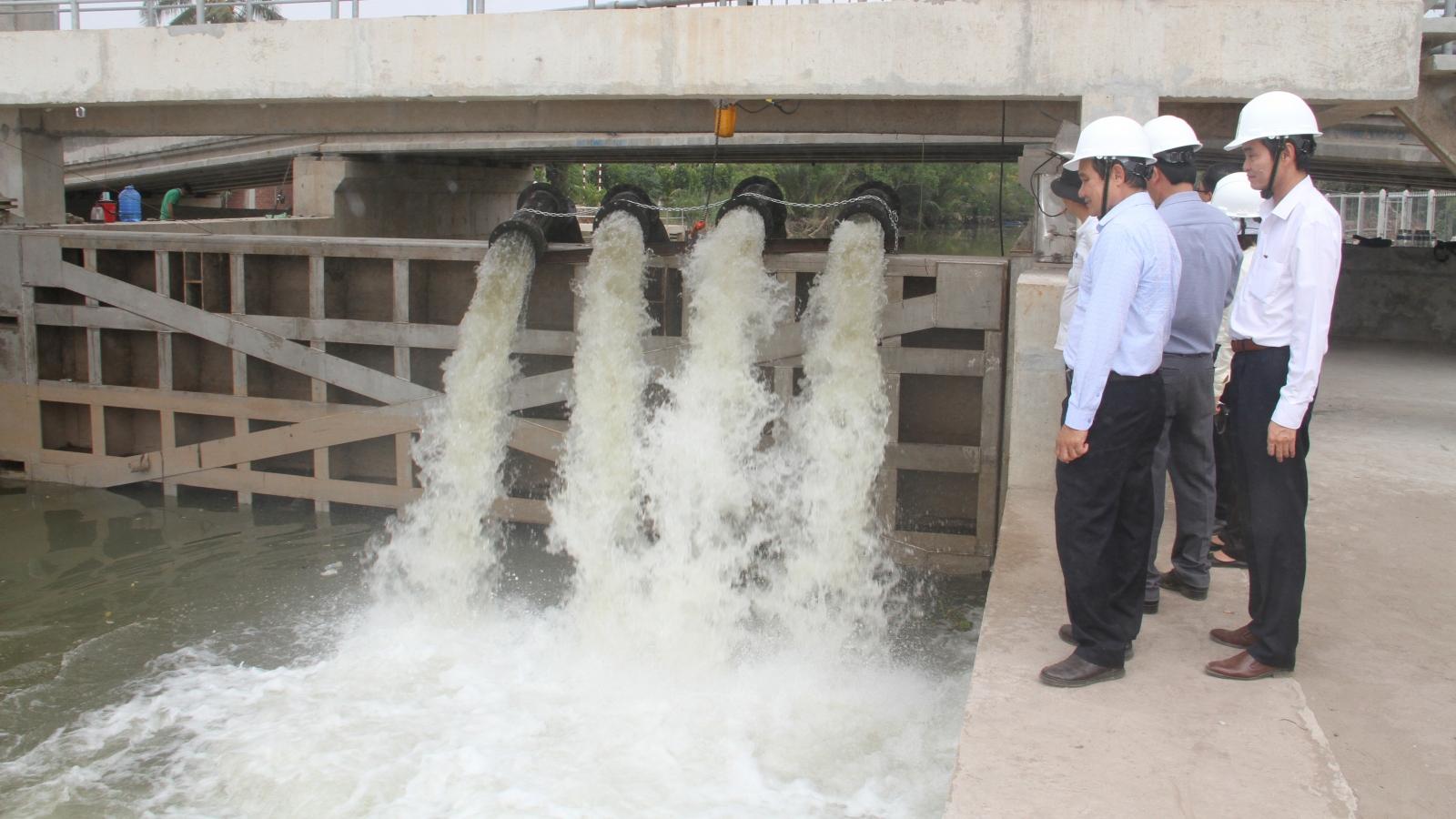 EVNSPC lập phương án tăng cường cấp điện chống hạn mặn