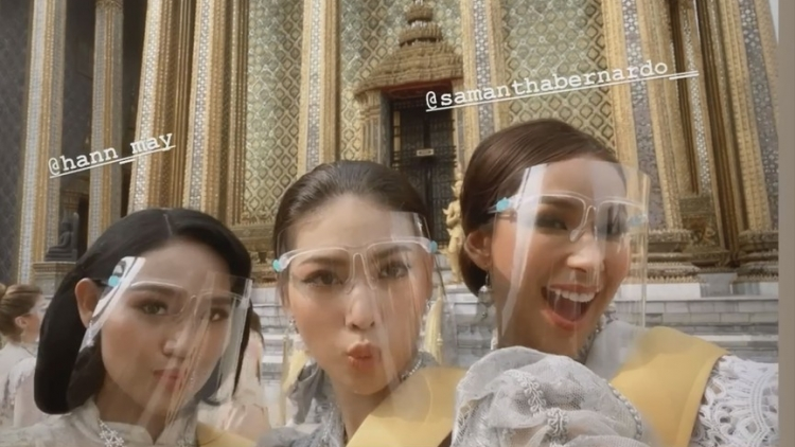 Á hậu Ngọc Thảo hóa gái Thái xinh đẹp trong ngày thứ 3 ở Miss Grand