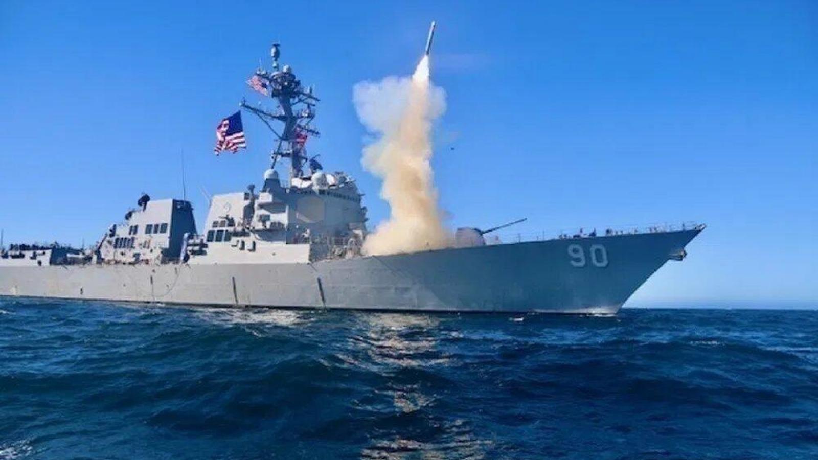 Mỹ trang bị tên lửa Tomahawk thế hệ mới nhất cho hải quân