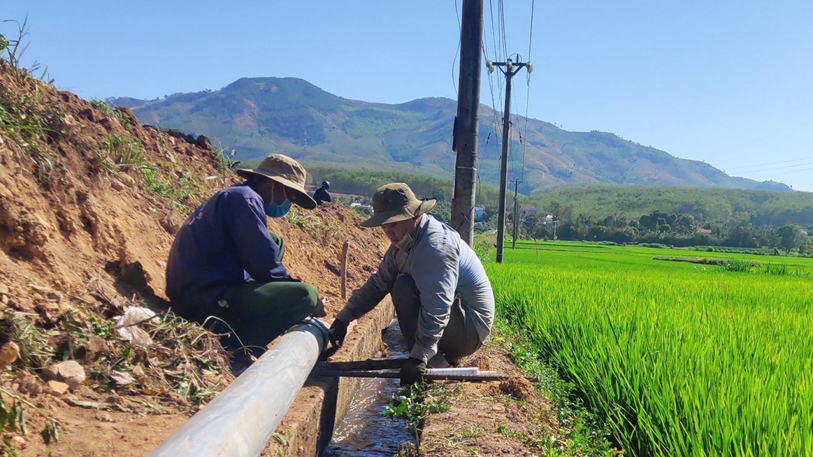 Kon Tum chủ động chống hạn cho cây trồng