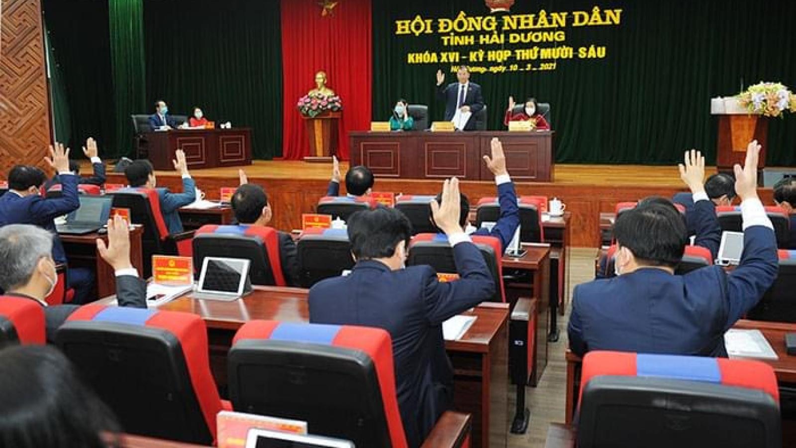 2 giám đốc sở giữ chức Phó Chủ tịch tỉnh Hải Dương