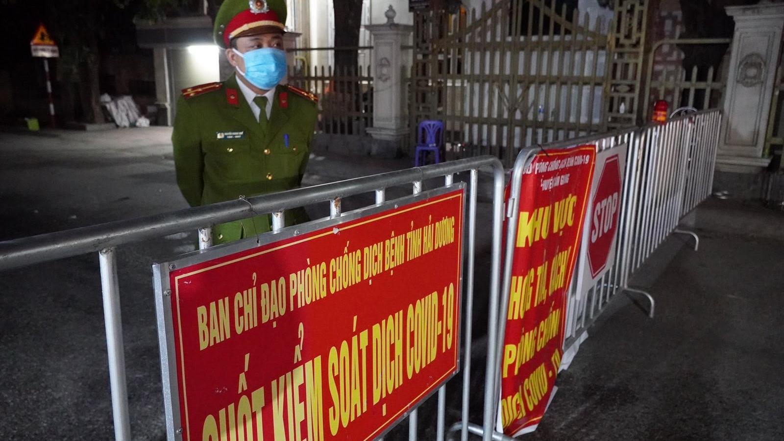 Hải Dương: Thiết lập vùng cách ly y tế 14 ngày toàn bộ  xã Kim Đính