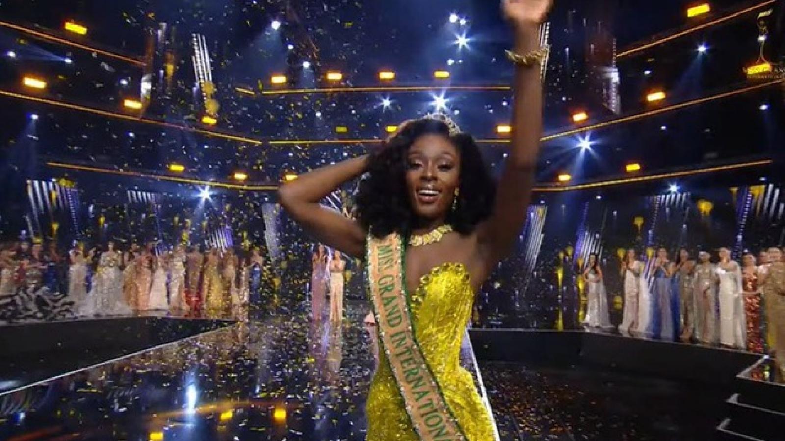 Người đẹp Mỹ đăng quang Hoa hậu Hòa bình Thế giới, Ngọc Thảo dừng chân ở top 20