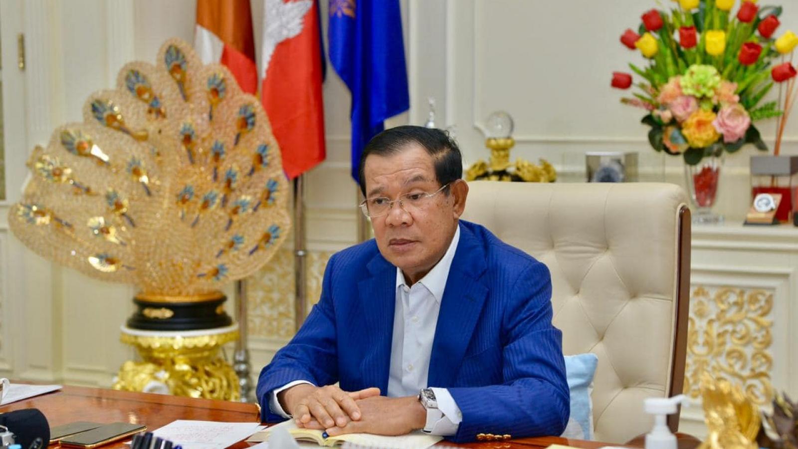 Thủ tướng Campuchia ra thông điệp khẩn trong đêm