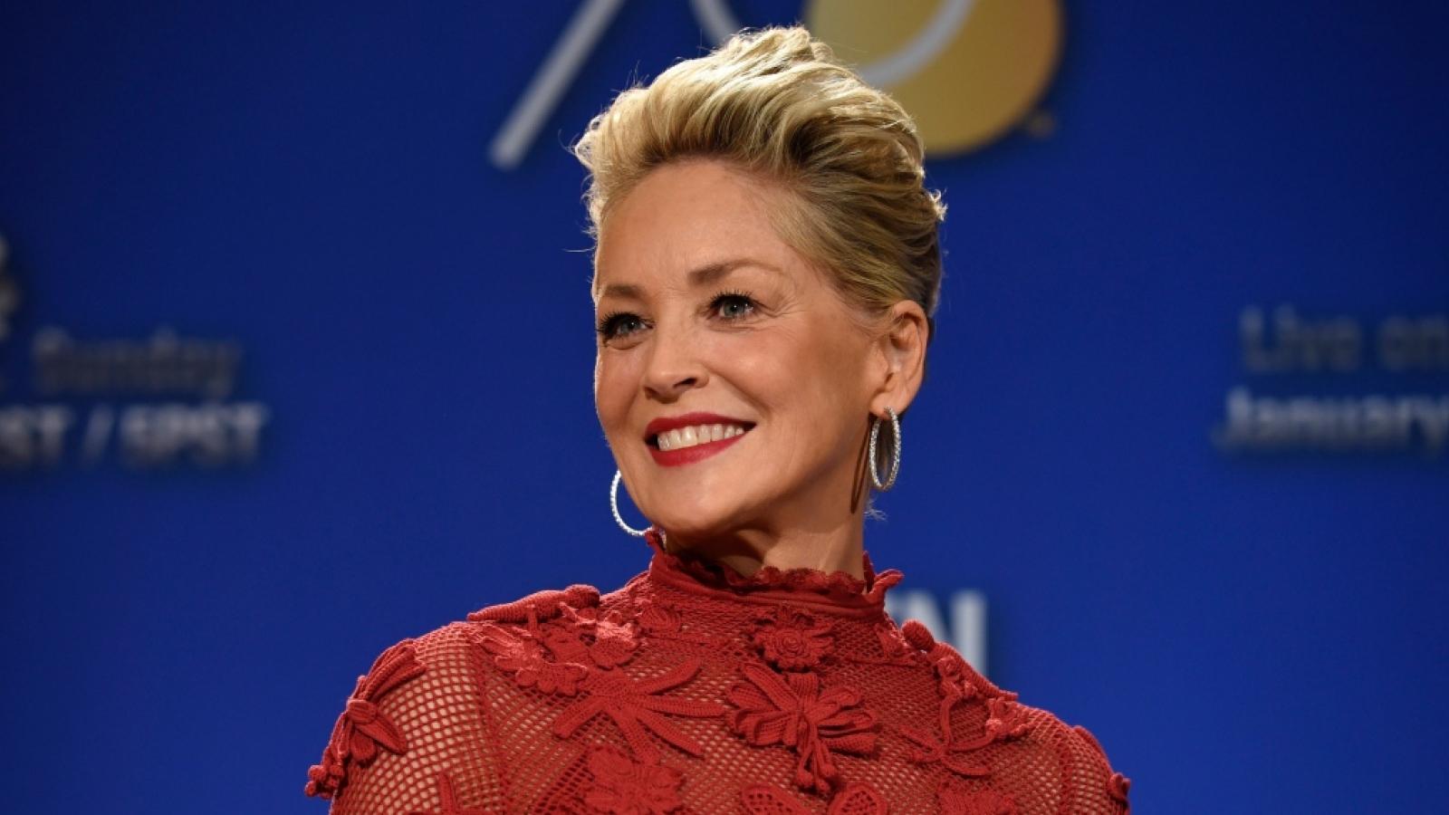 """""""Biểu tượng sắc đẹp Hollywood"""" Sharon Stone: Đứng dậy sau nhiều biến cố"""