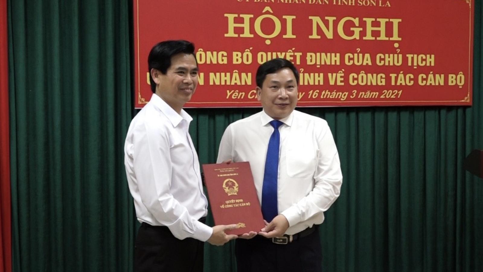 Ông Lù Văn Cường giữ chức Chủ tịch huyện Yên Châu, tỉnh Sơn La