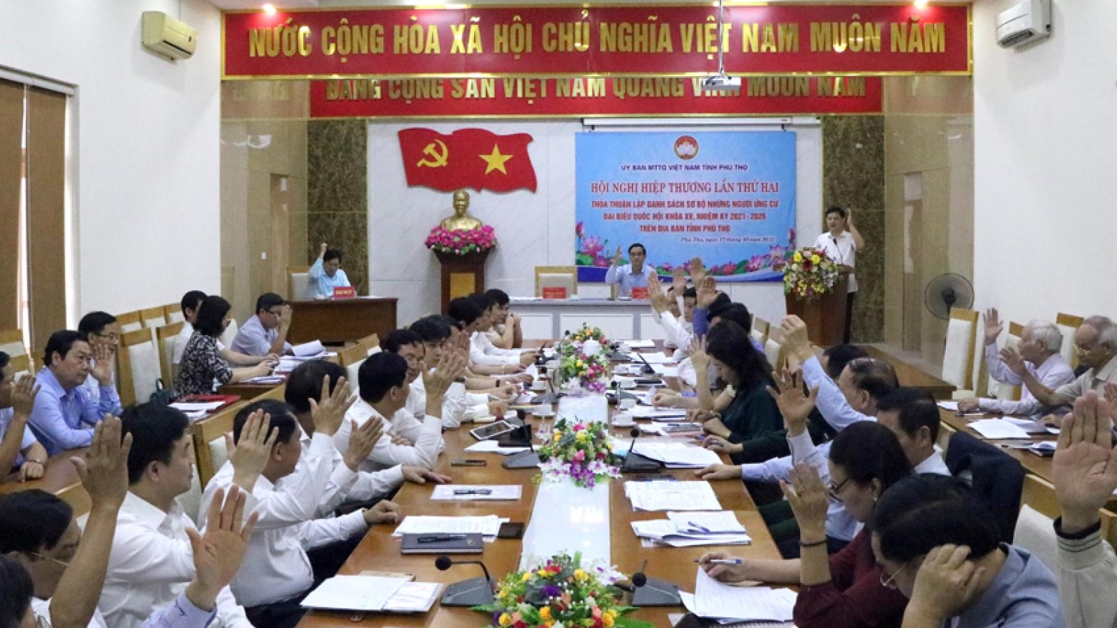 Hội nghị Hiệp thương lần 2: Lập danh sách sơ bộ người ứng cử ĐBQH