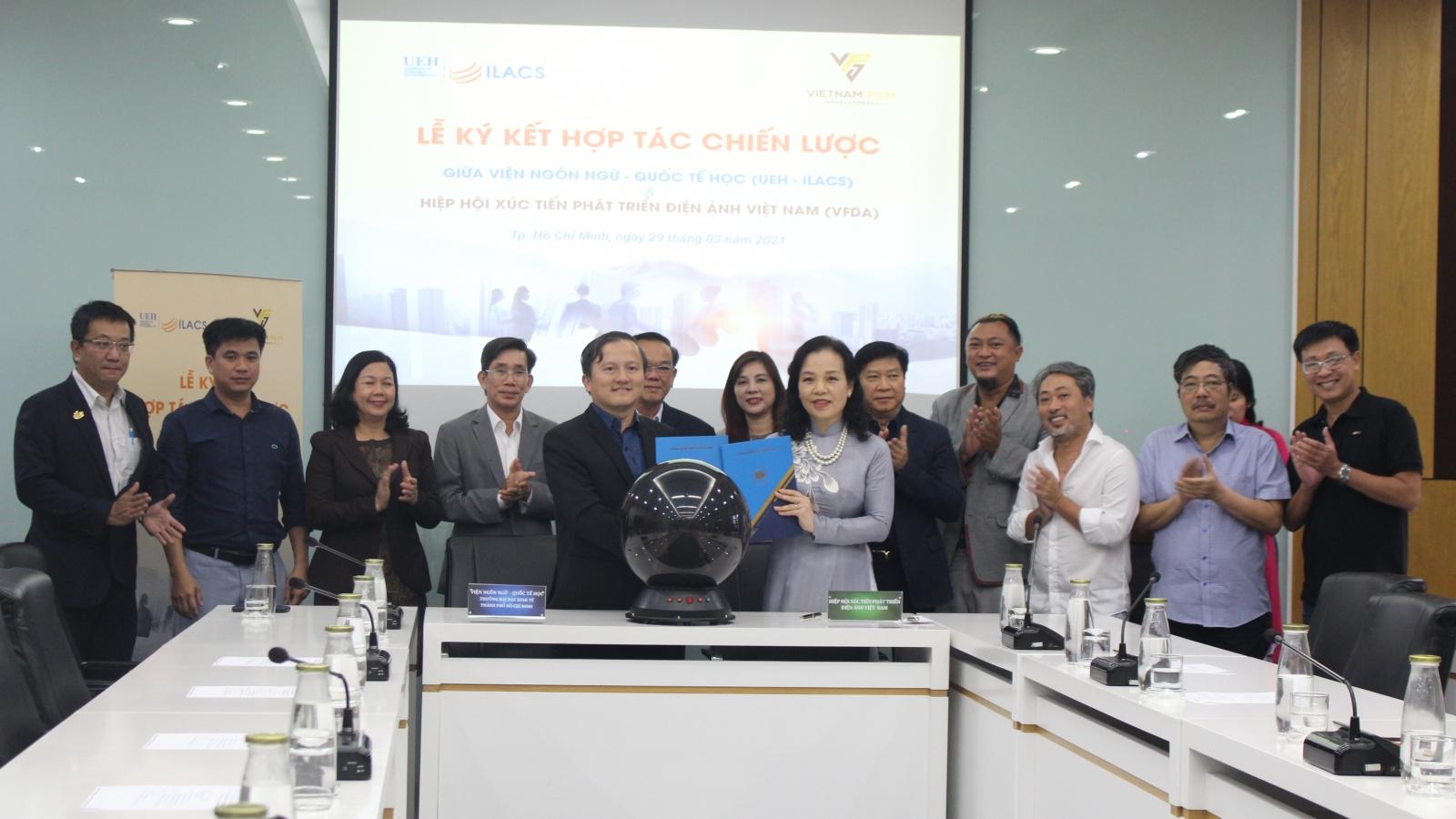 Ký kết hợp tác chiến lược về xúc tiến, phát triển và giáo dục điện ảnh Việt Nam
