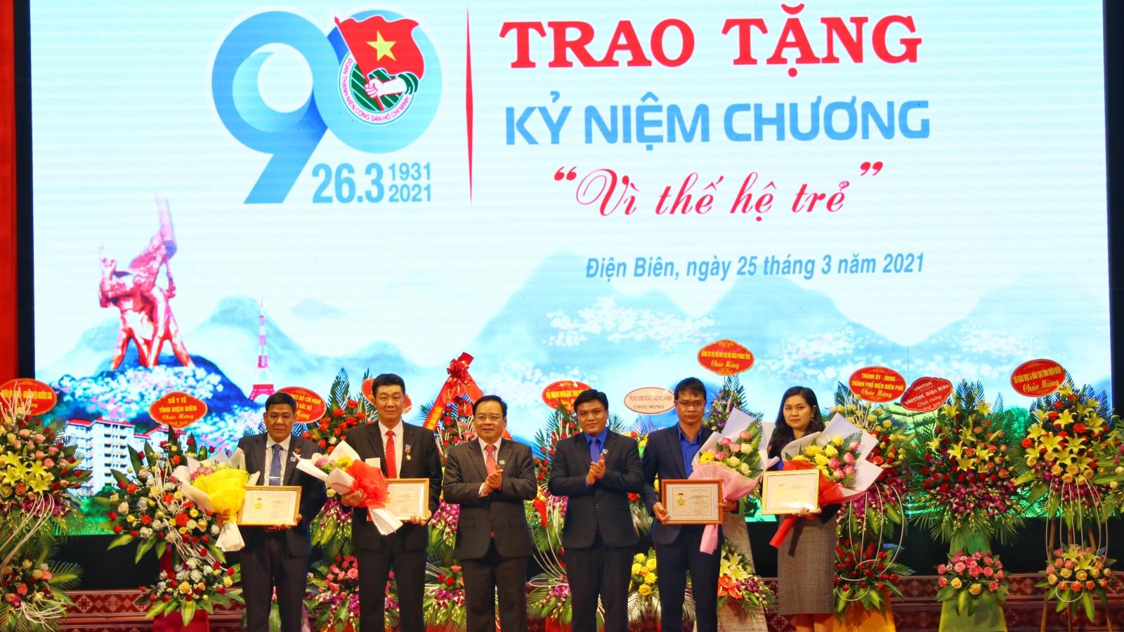Điện Biên tuyên dương các tổ chức đoàn, cán bộ đoàn tiêu biểu