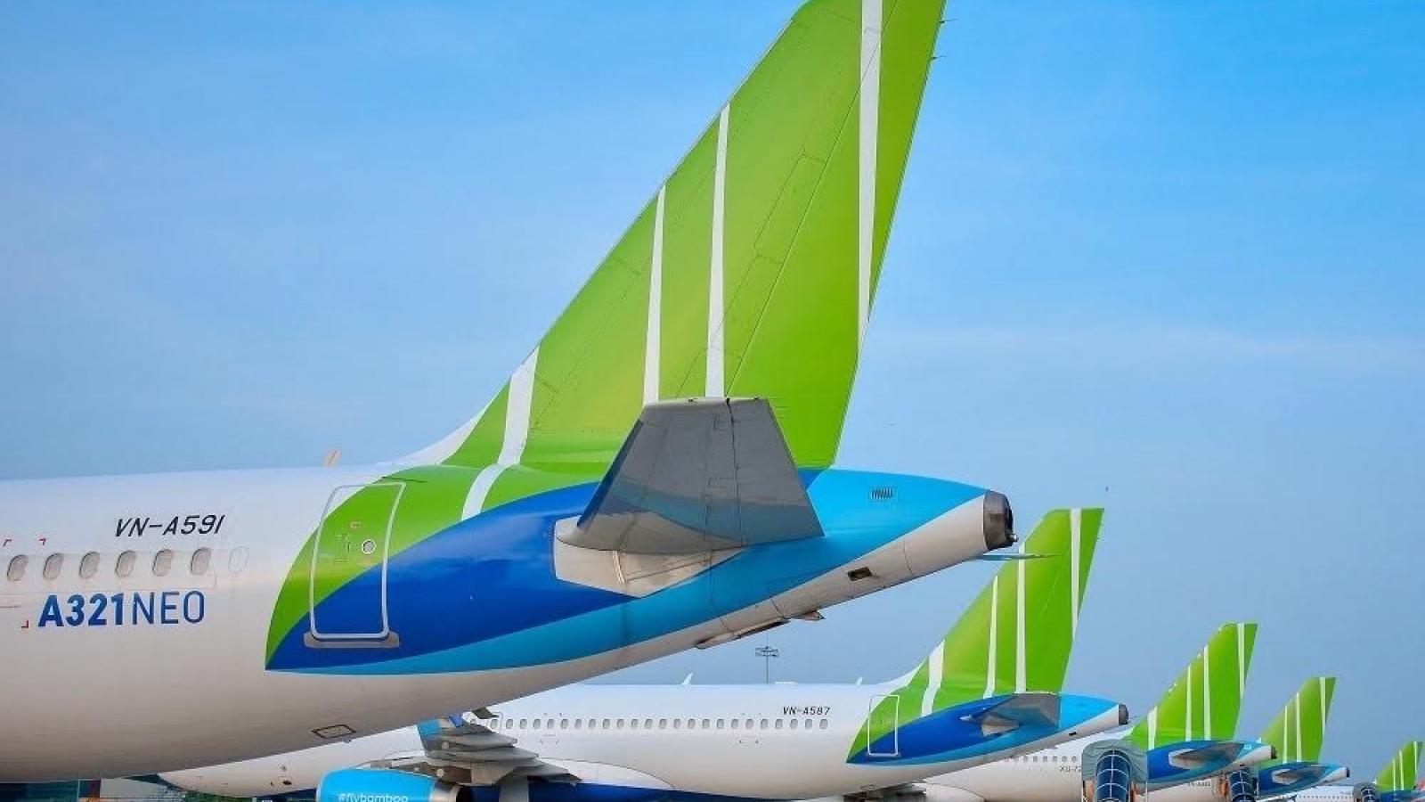 Bamboo Airways thống lĩnh mạng bay nội địa về độ phủ sóng
