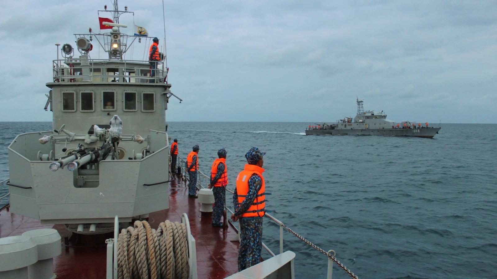 Hải quân Việt Nam và Hải quân Hoàng gia Campuchia tuần tra chung lần thứ 62