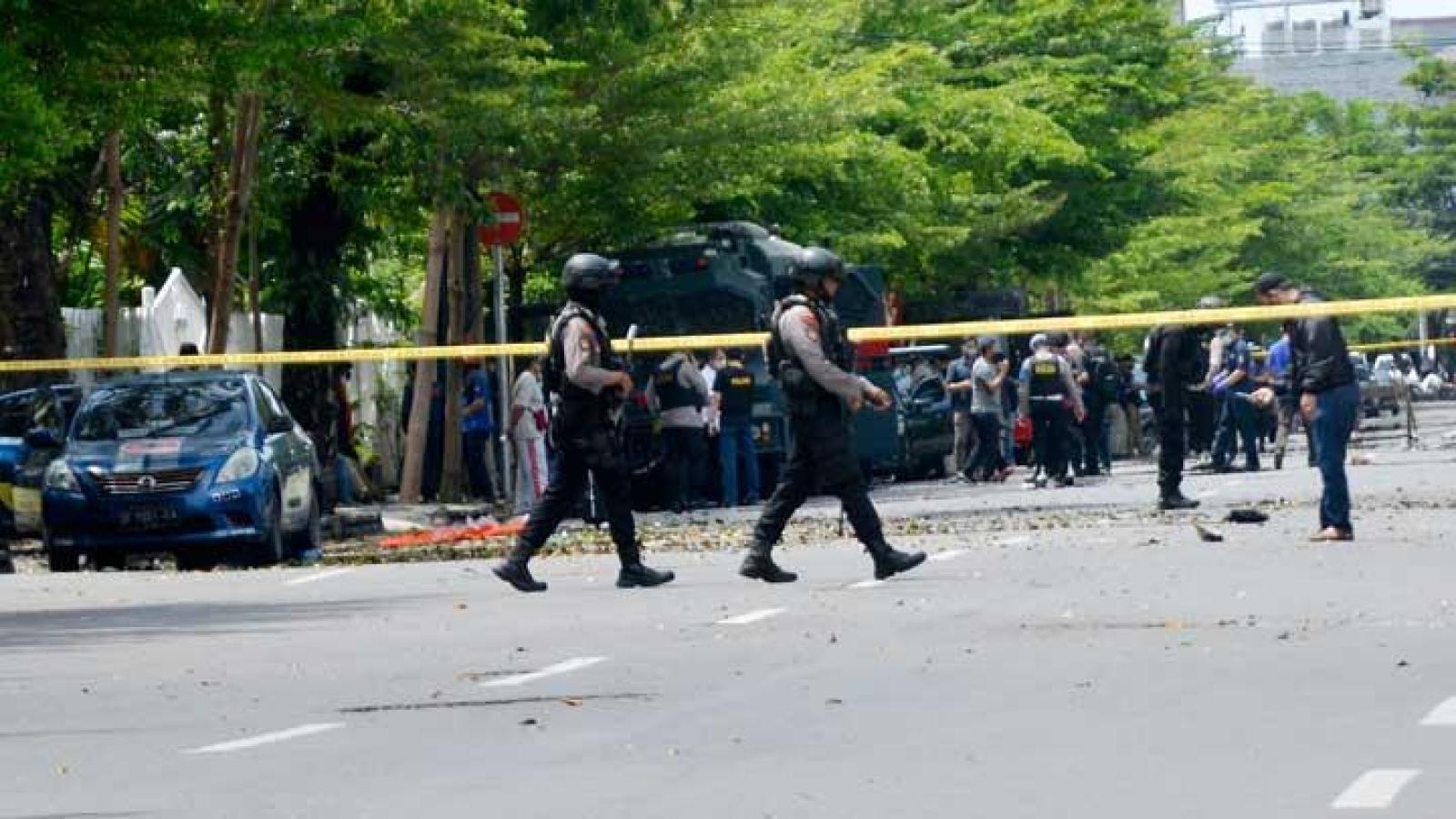 Đánh bom liều chết ở Indonesia: Ít nhất 20 người thương vong