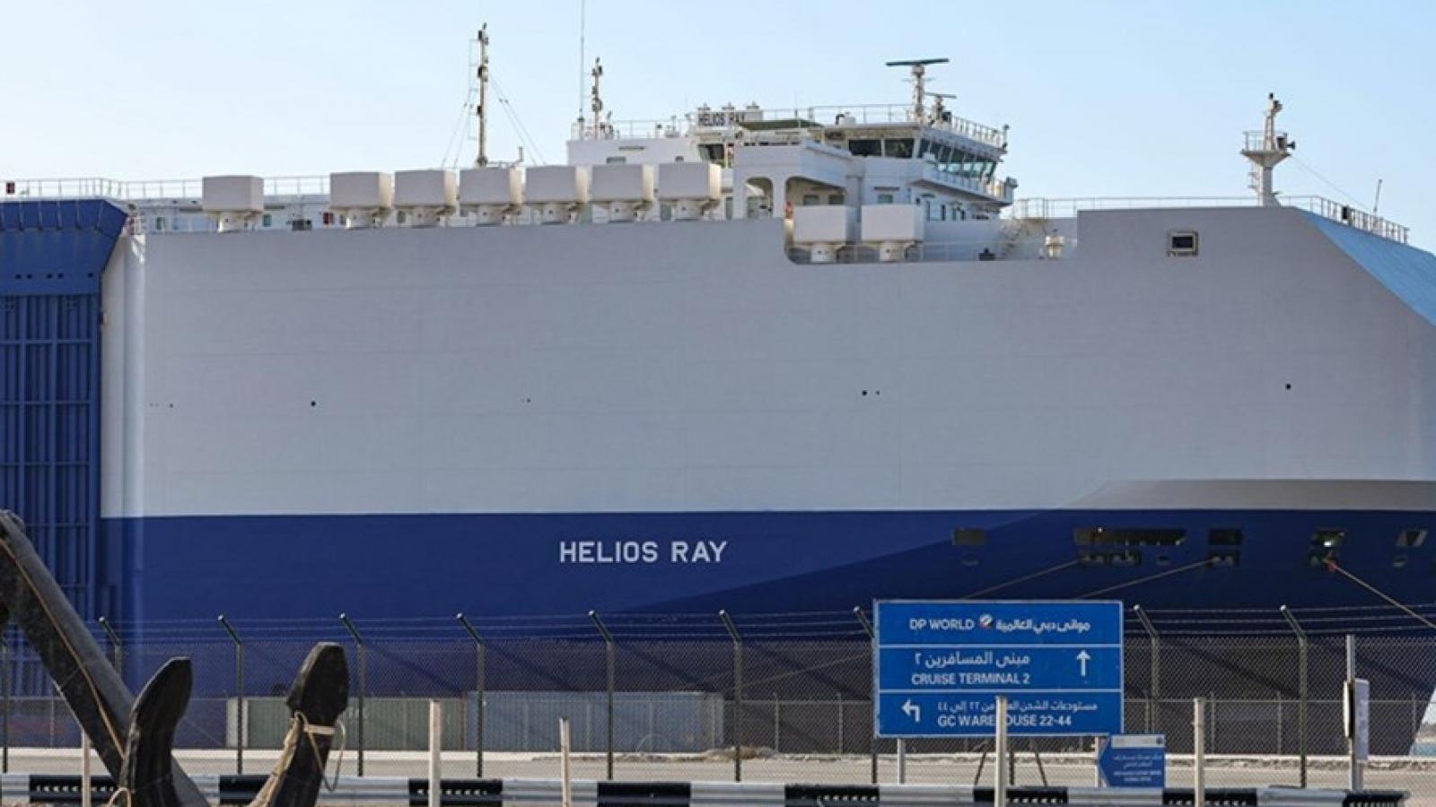 Iran phủ nhận tấn công tàu của Israel ở vùng Vịnh