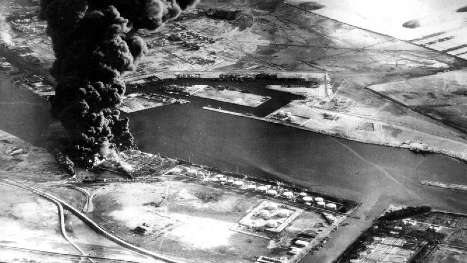 Những cuộc khủng hoảng từng khiến kênh đào Suez phải đóng cửa